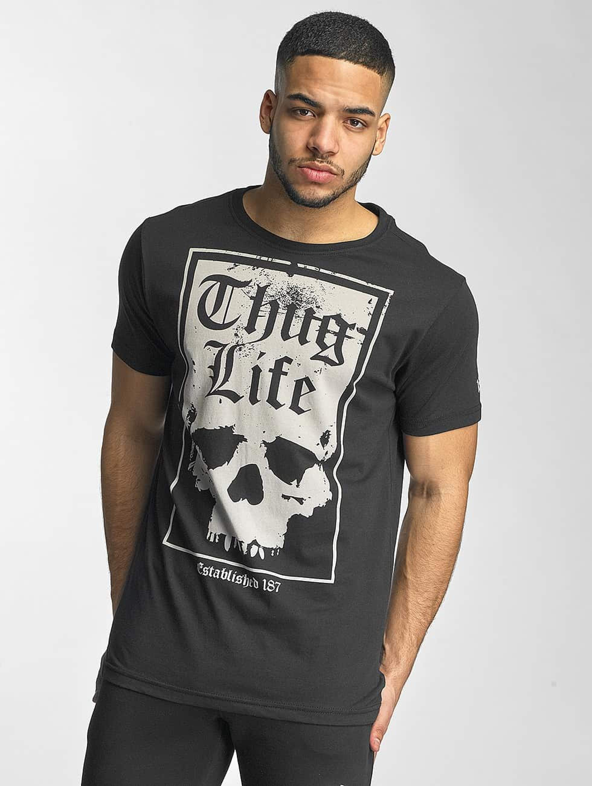Thug Life / T-Shirt Established 187 in black S