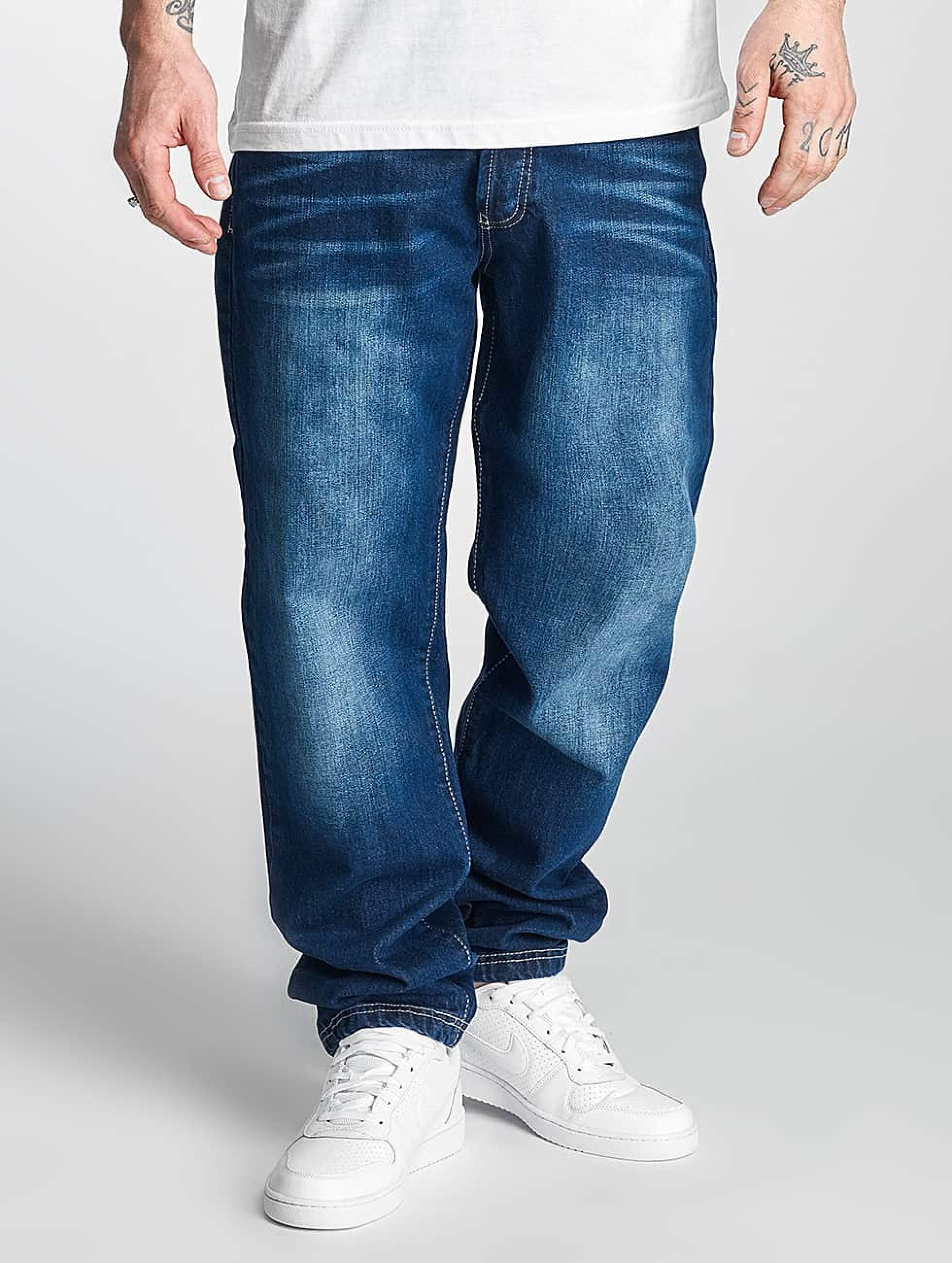 Thug Life / Carrot Fit Jeans Primorsk in blue W 32 L 34