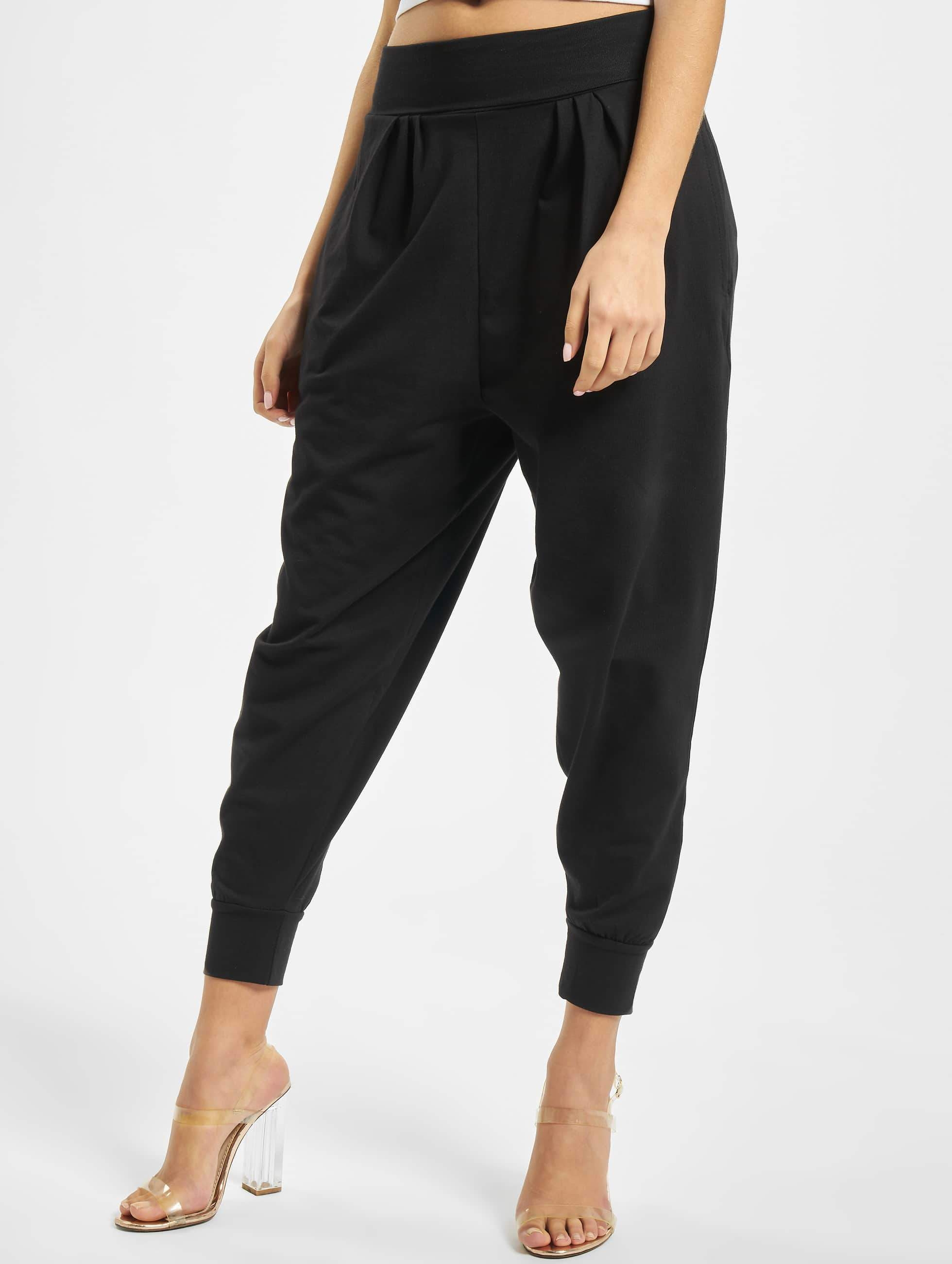 DEF / Sweat Pant Saruel in black XS