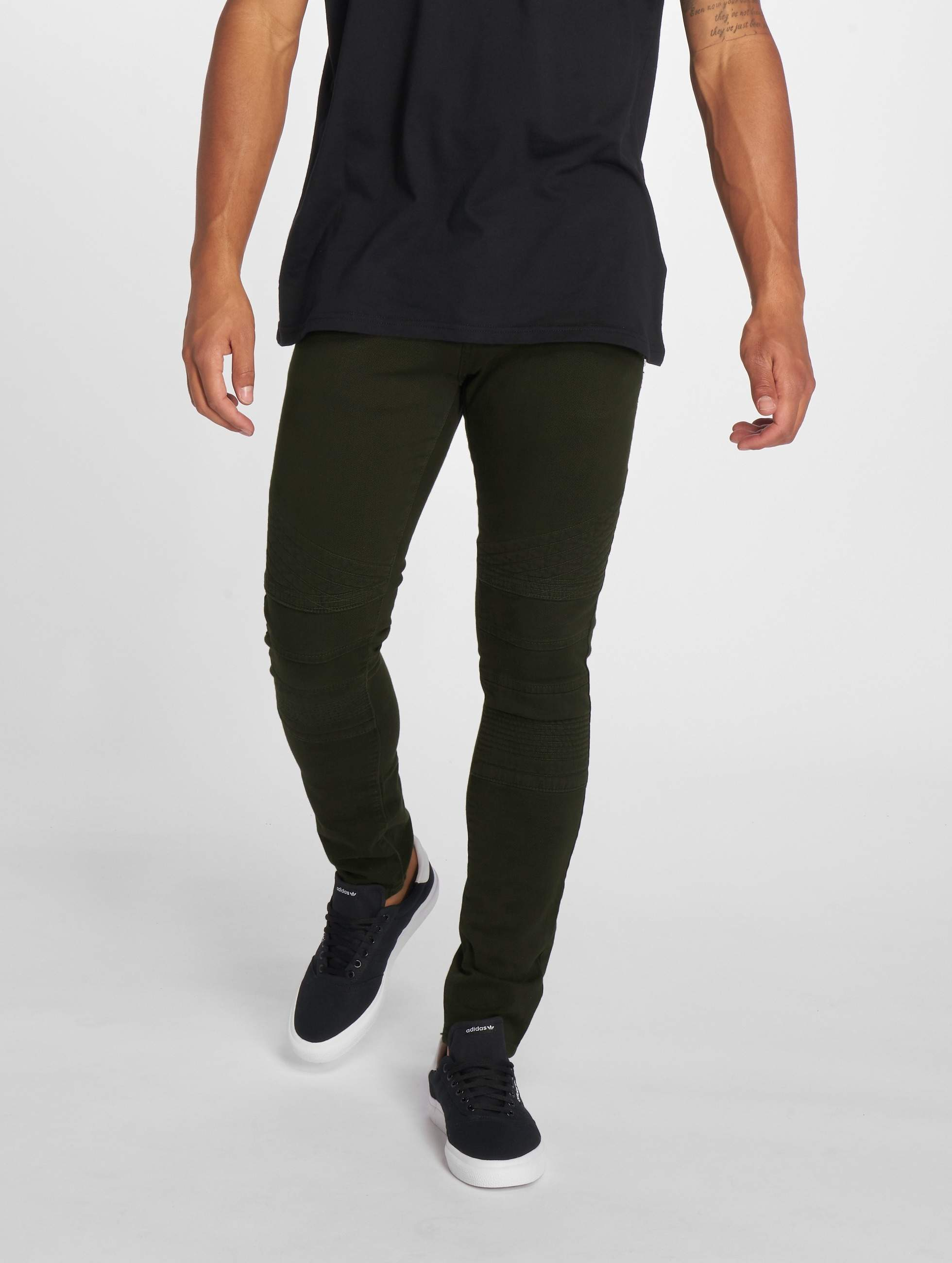 2Y / Slim Fit Jeans Dio in olive W 33