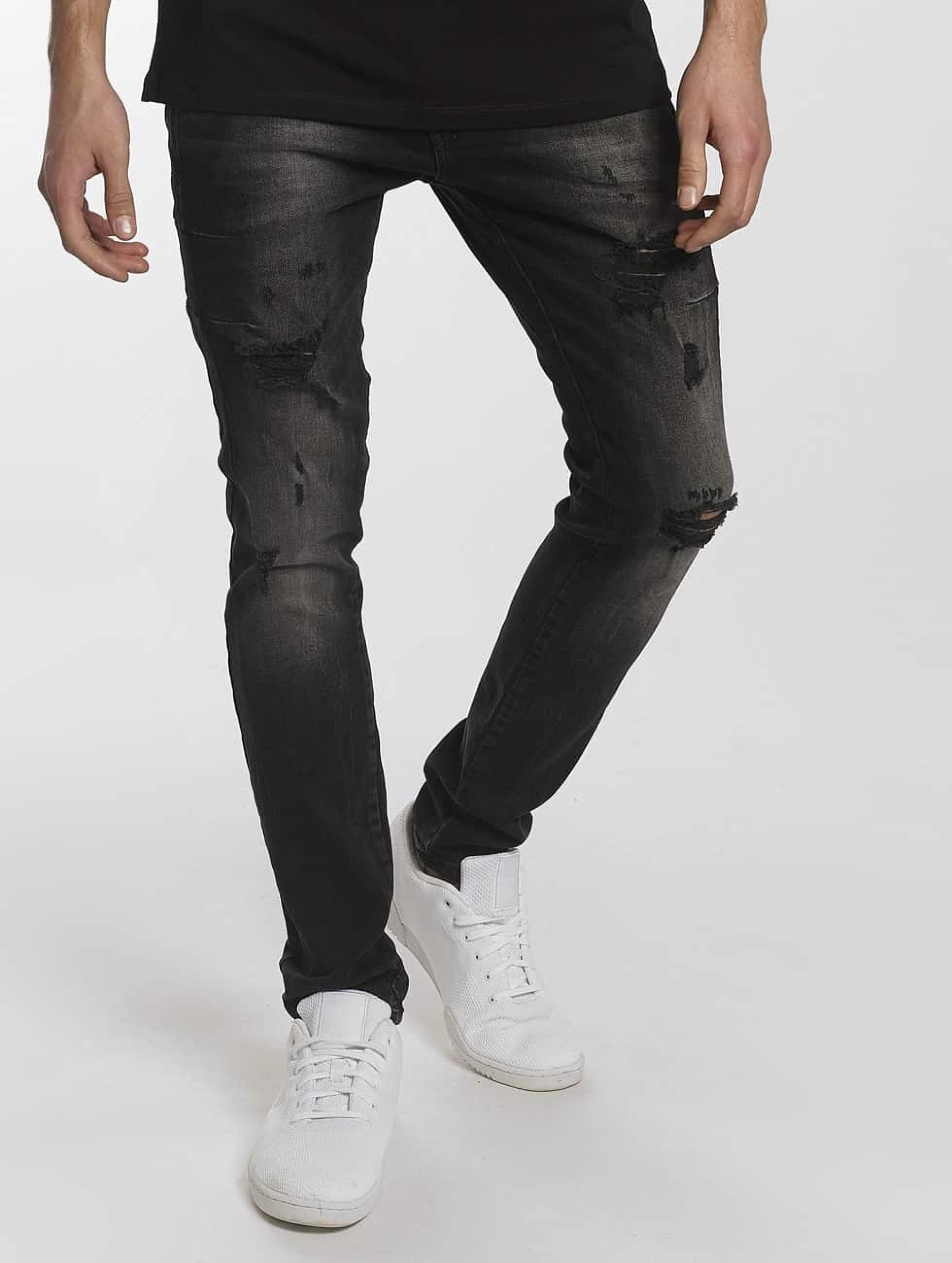 2Y / Slim Fit Jeans Modern Tactic in black W 34