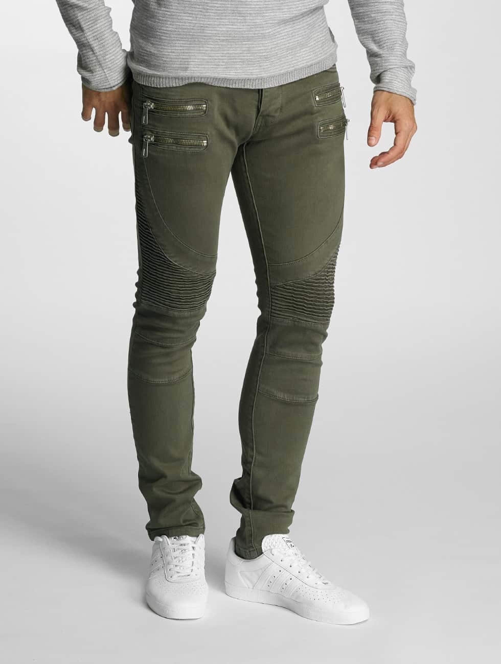 2Y / Skinny Jeans Savage in olive W 32