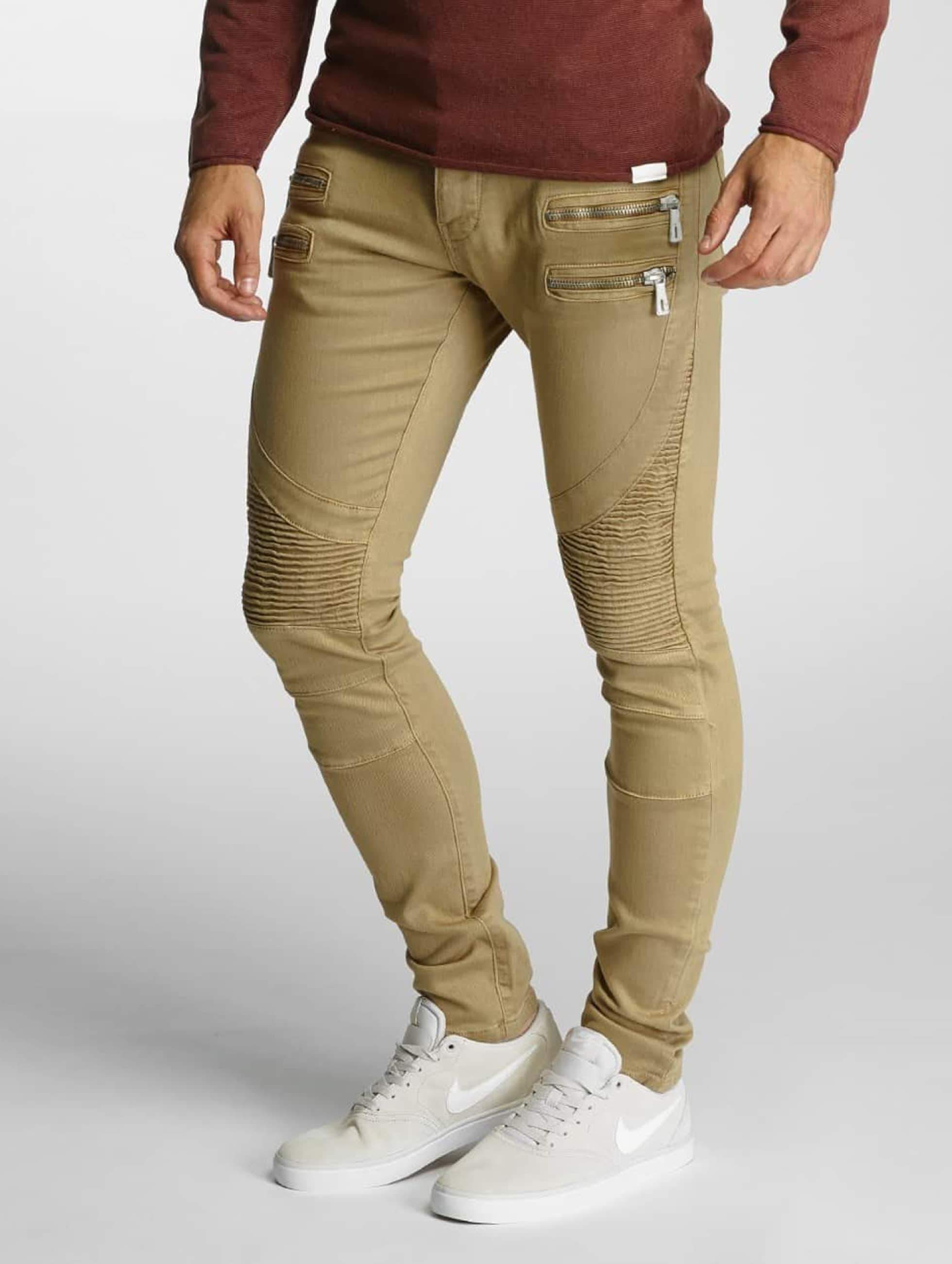 2Y / Slim Fit Jeans Savage in khaki W 36