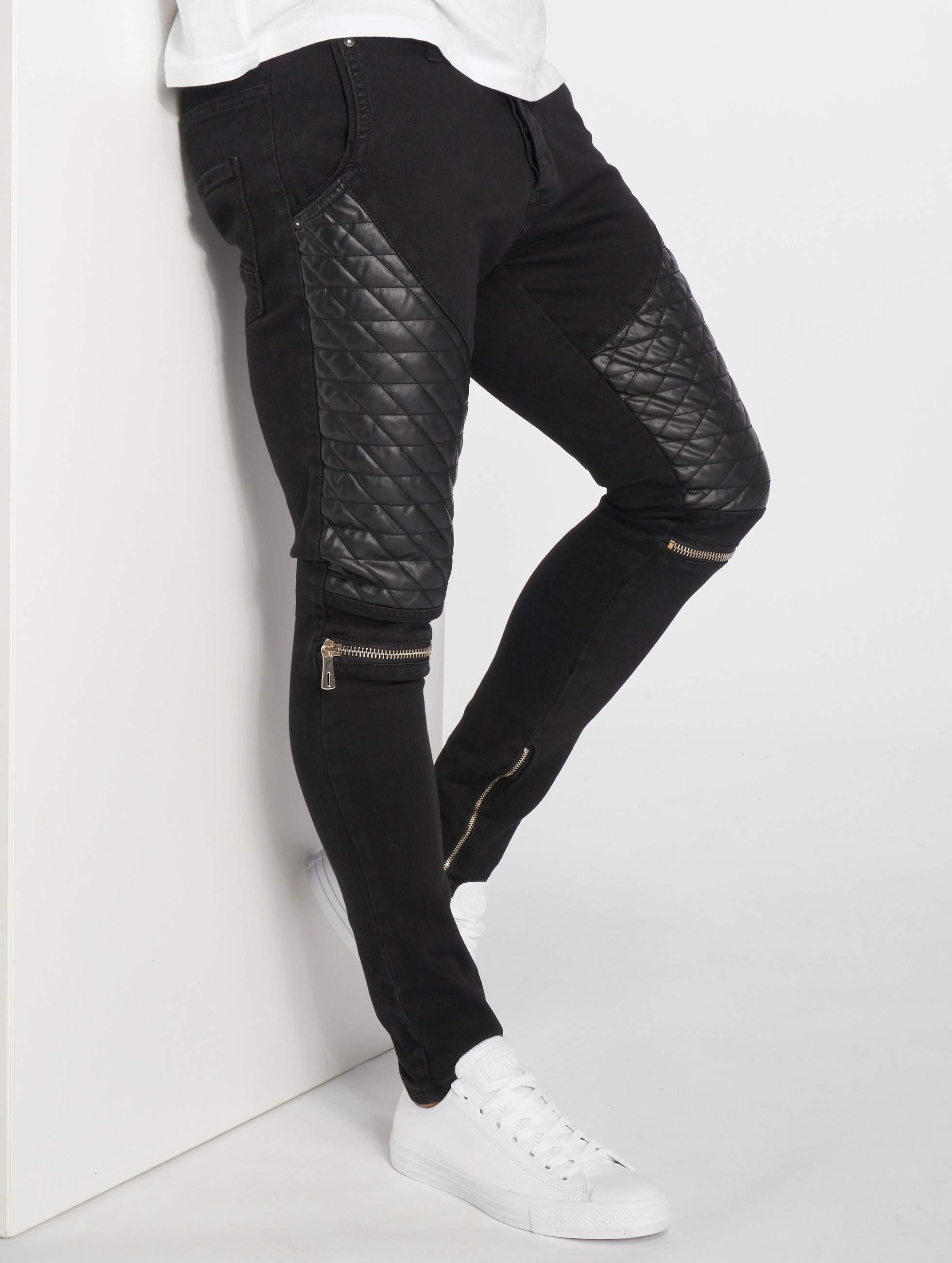 2Y / Slim Fit Jeans Zachäus in black W 34