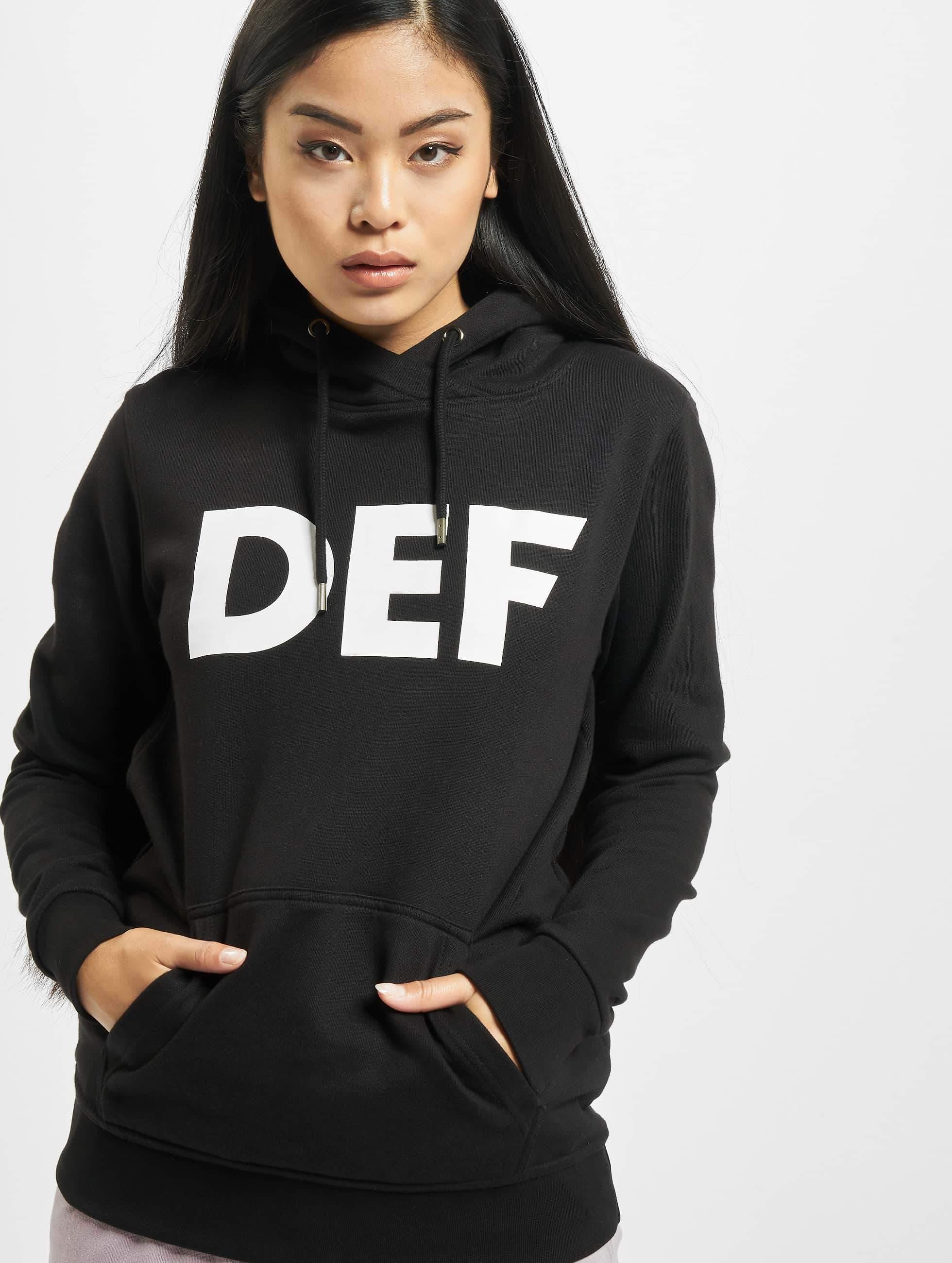 DEF / Hoodie Lumos in black XS