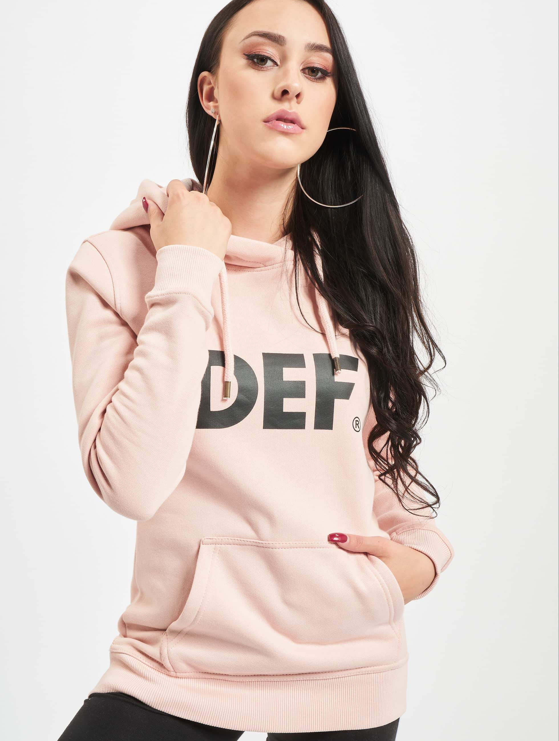 DEF / Hoodie Lumos in rose XS