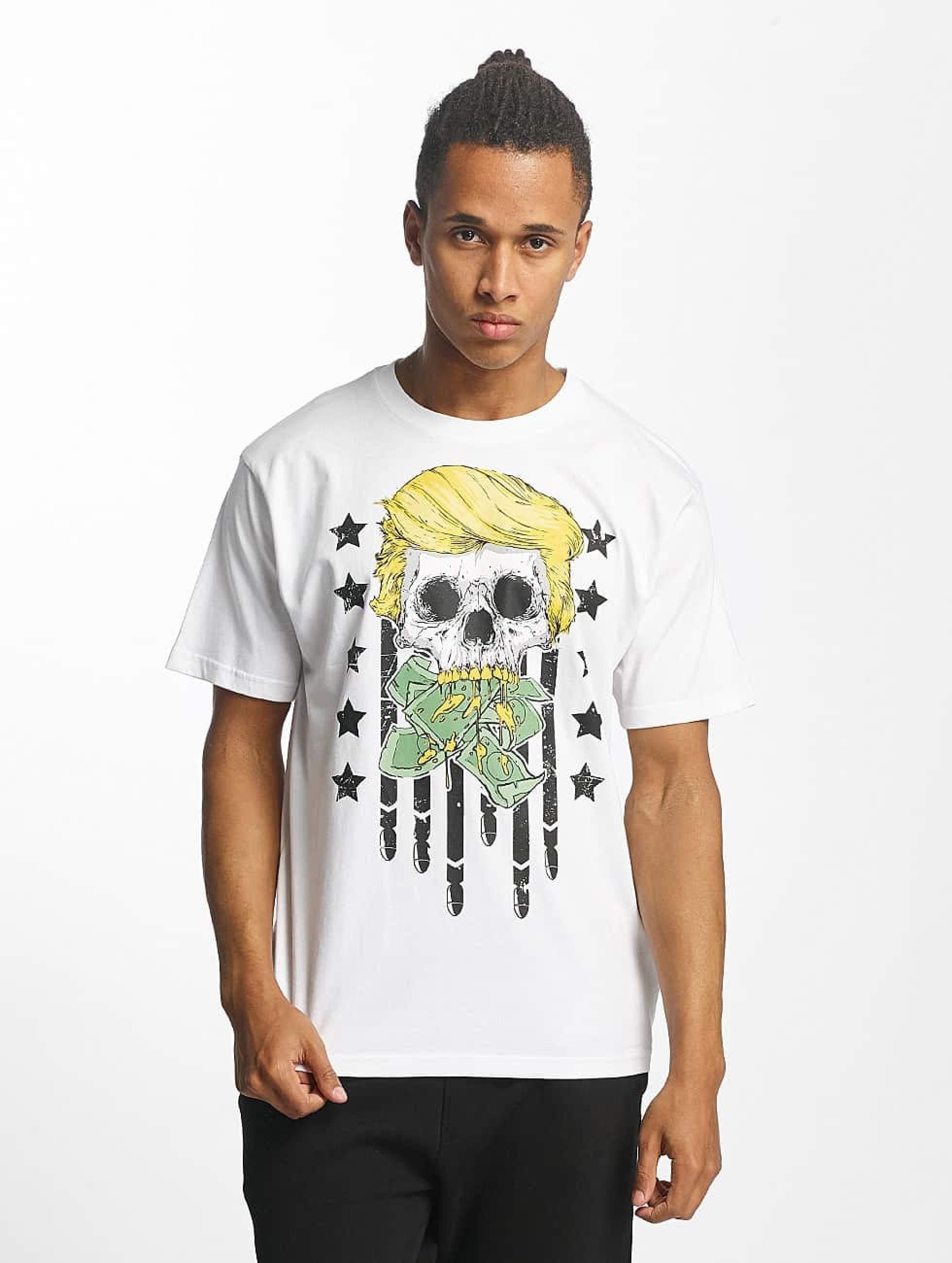 Dangerous DNGRS / T-Shirt Don Bomb in white XL
