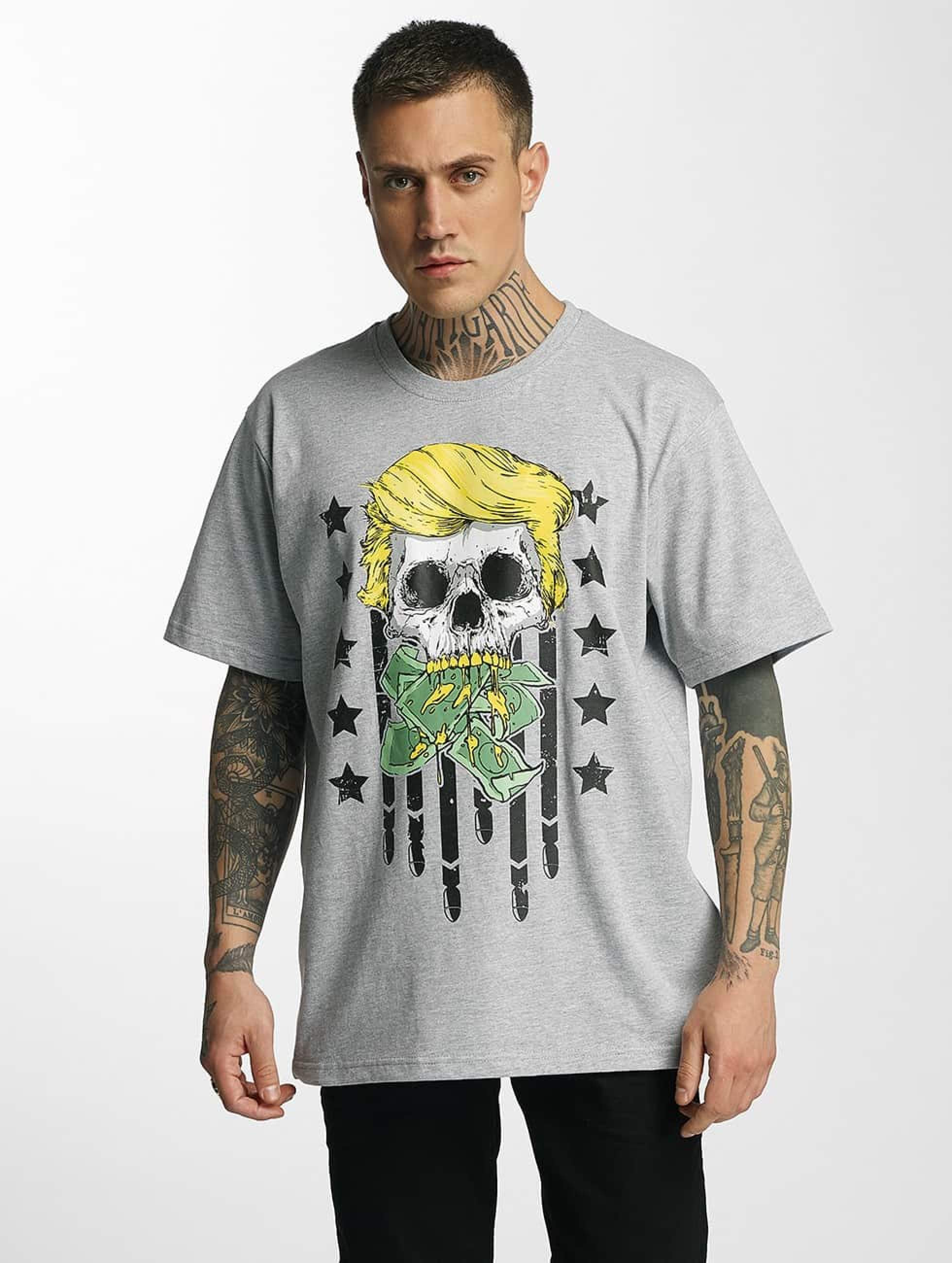 Dangerous DNGRS / T-Shirt Don Bomb in grey L
