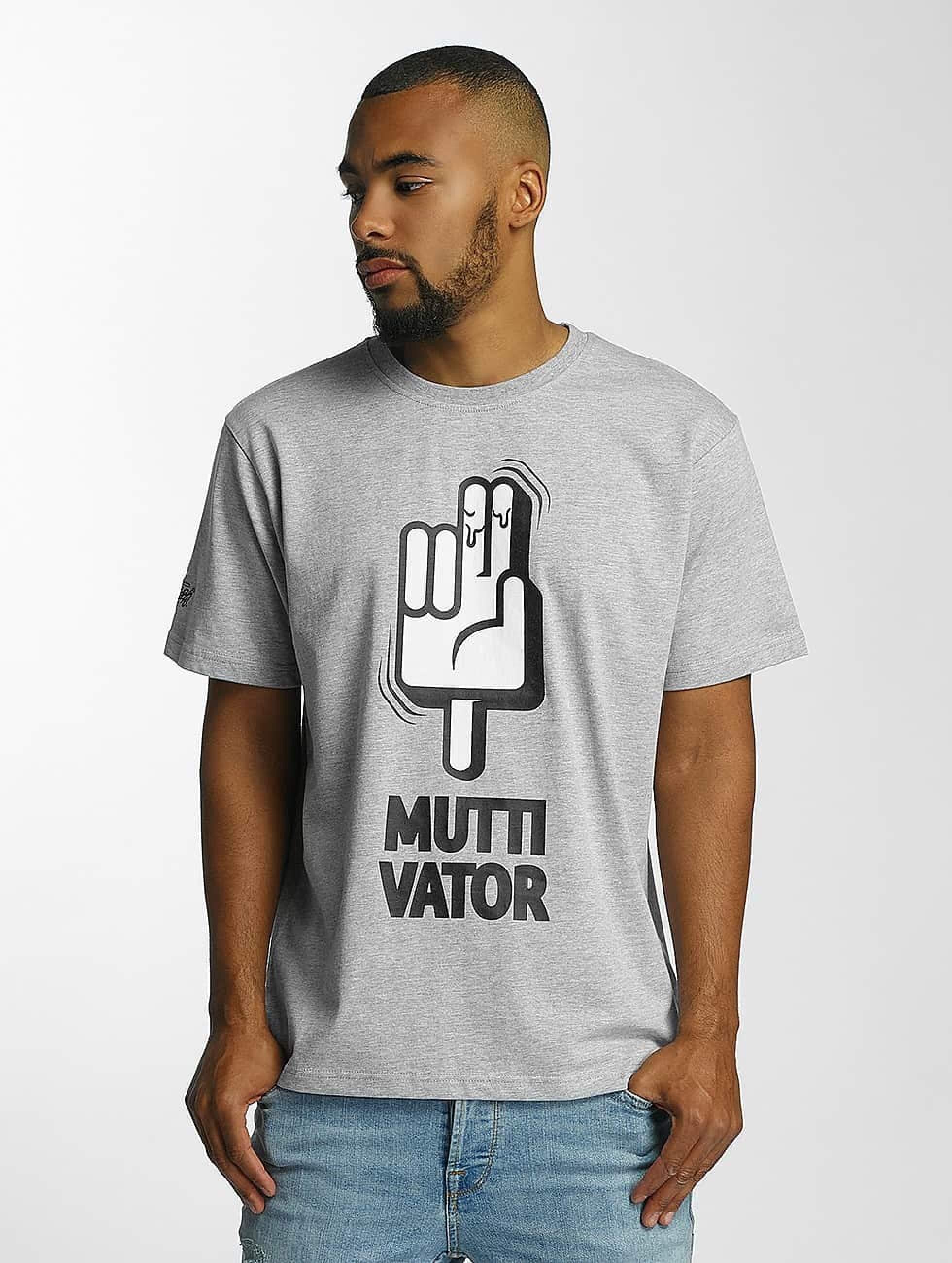 Dangerous DNGRS / T-Shirt Muttivator in grey S