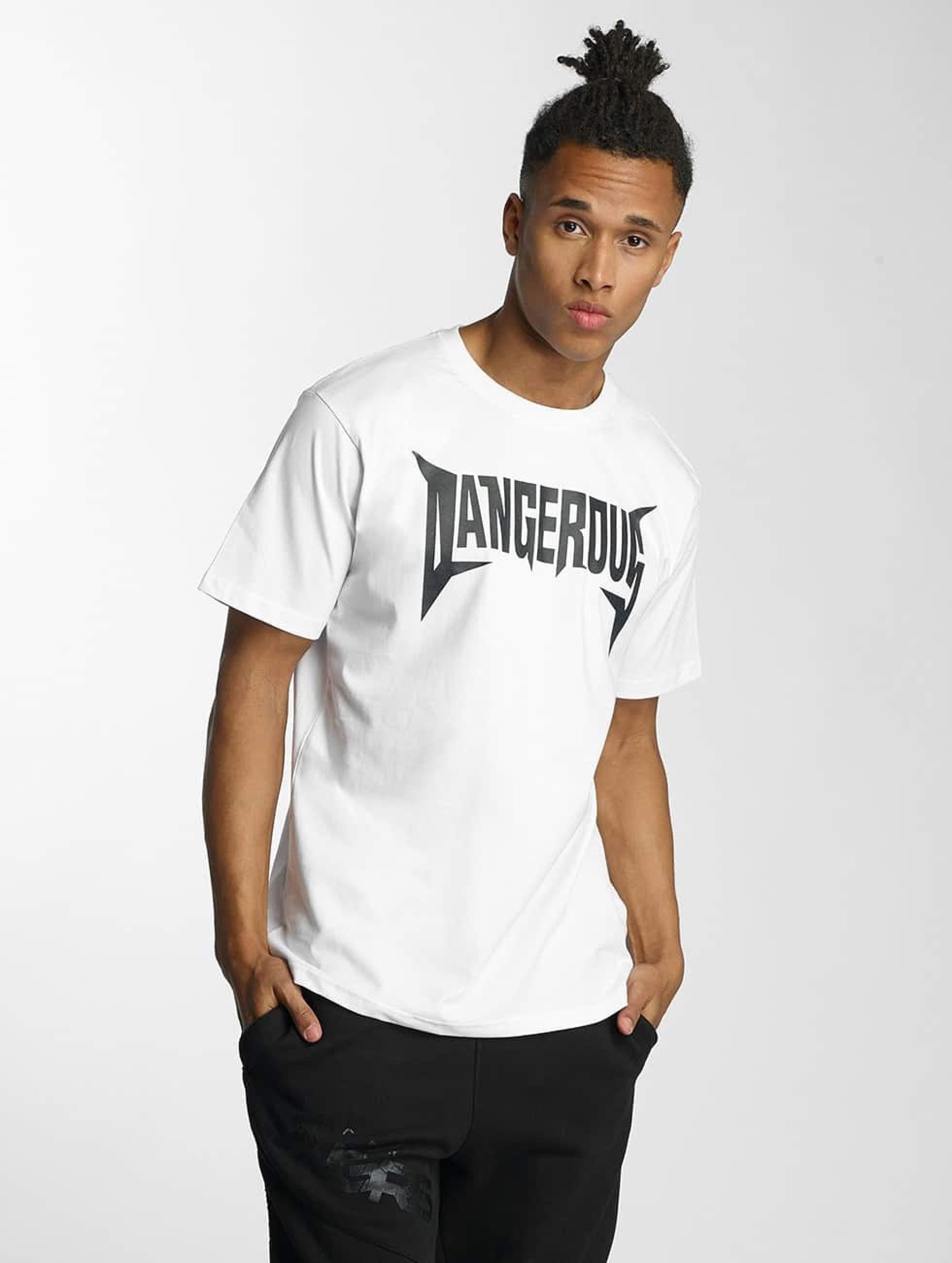 Dangerous DNGRS / T-Shirt Methal in white XL