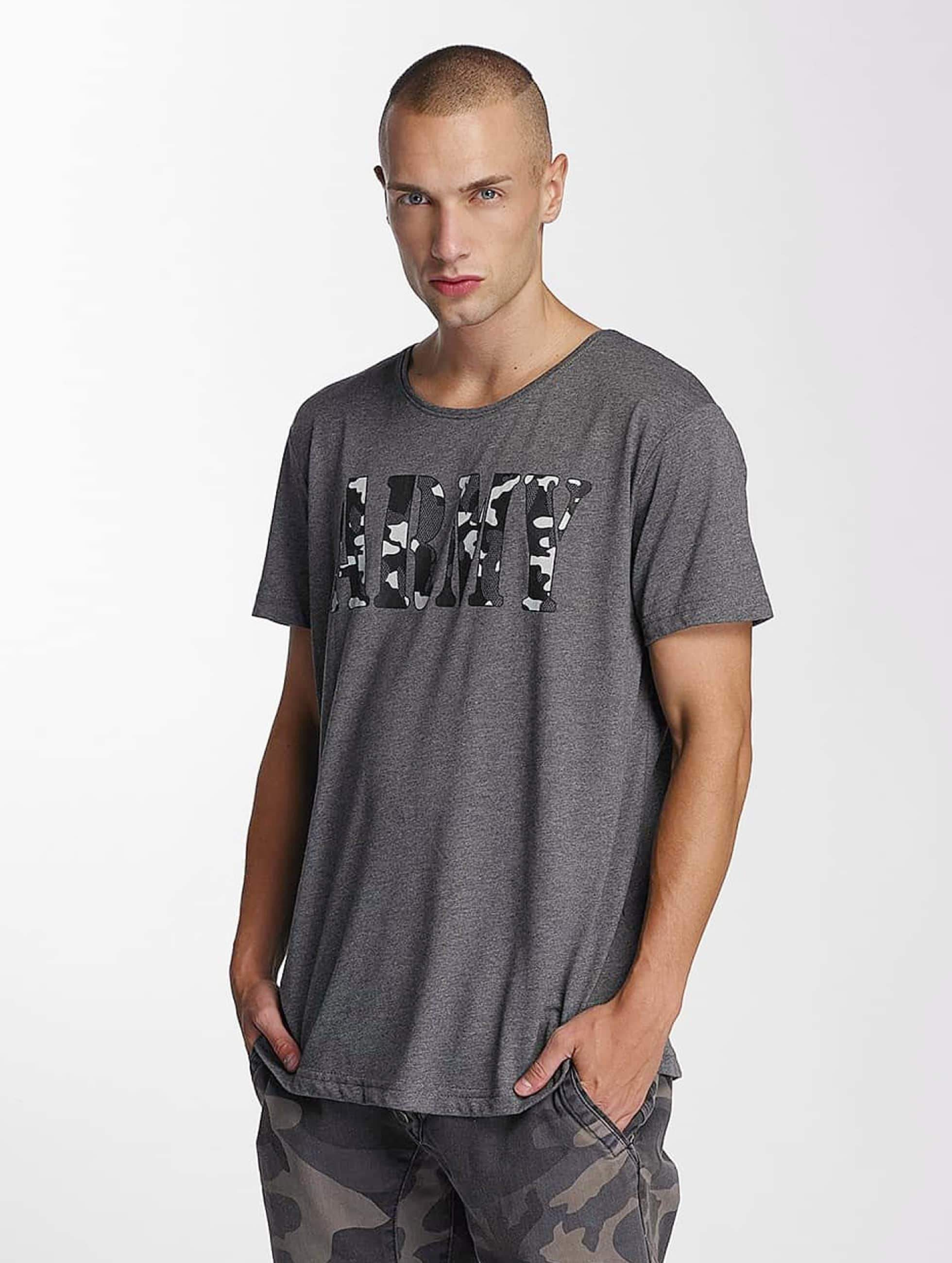 Bangastic / T-Shirt Team Army in grey S