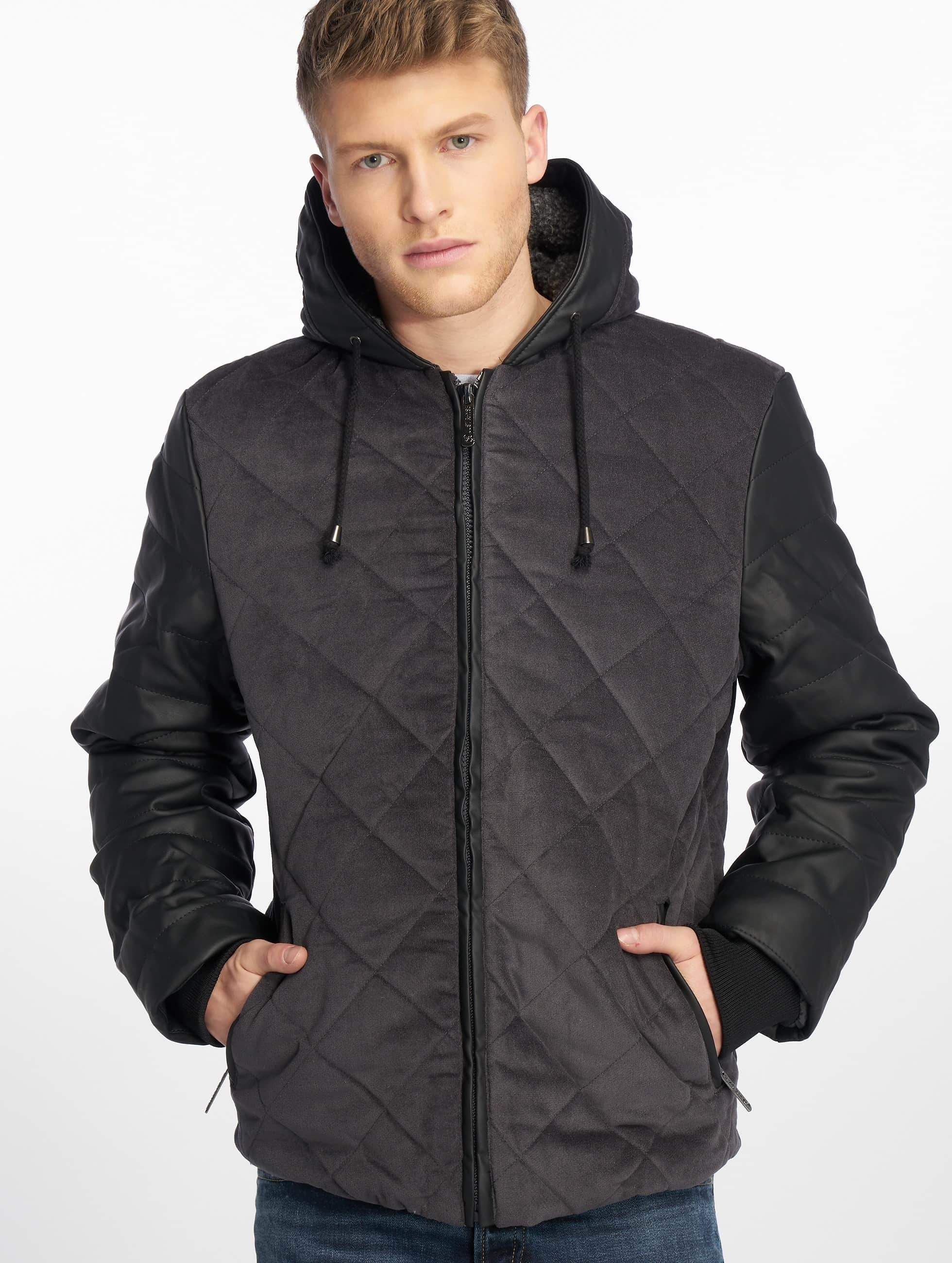Just Rhyse / Winter Jacket Quilted in grey S