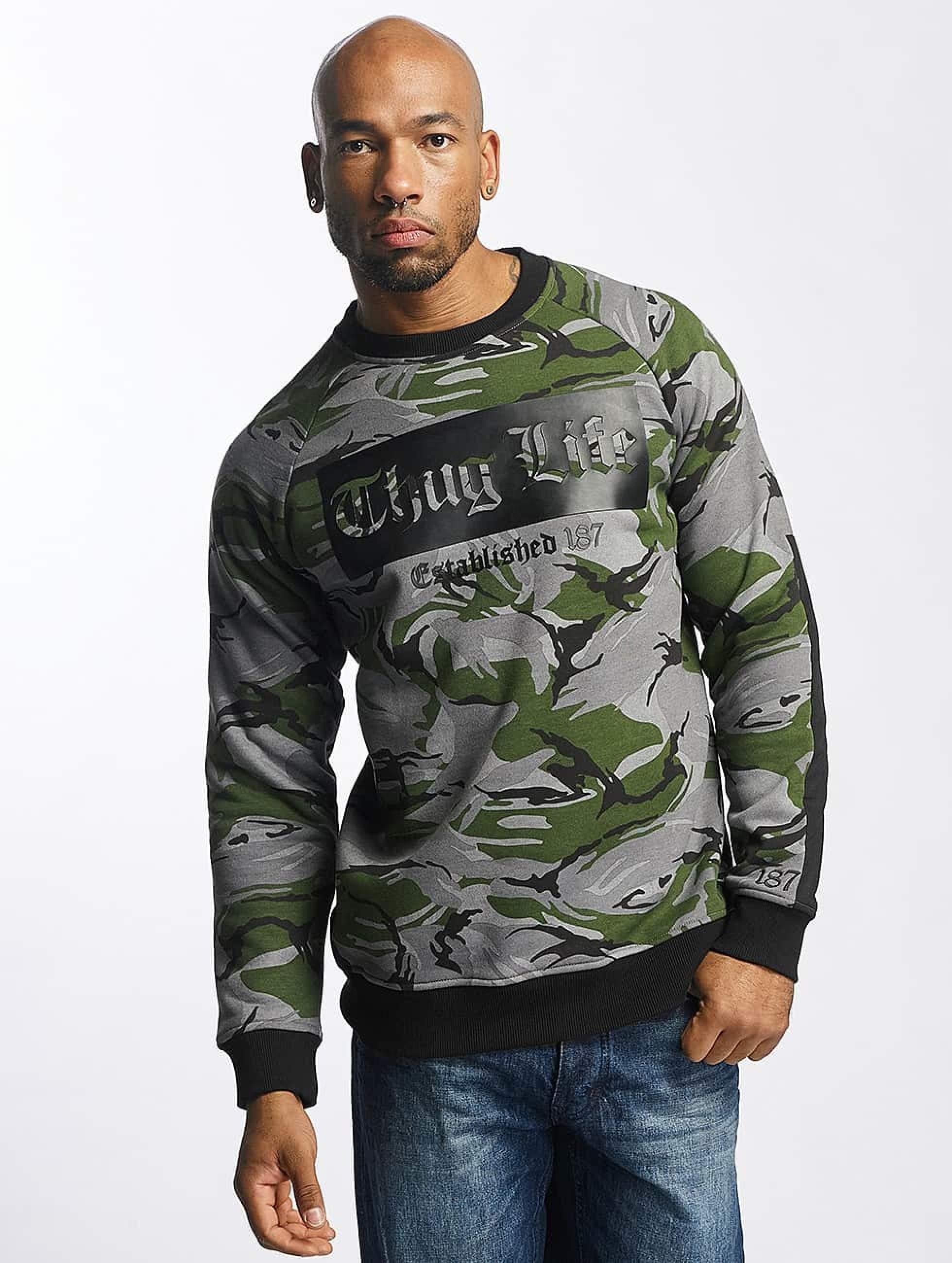 Thug Life / Jumper TLCN115 in camouflage 2XL