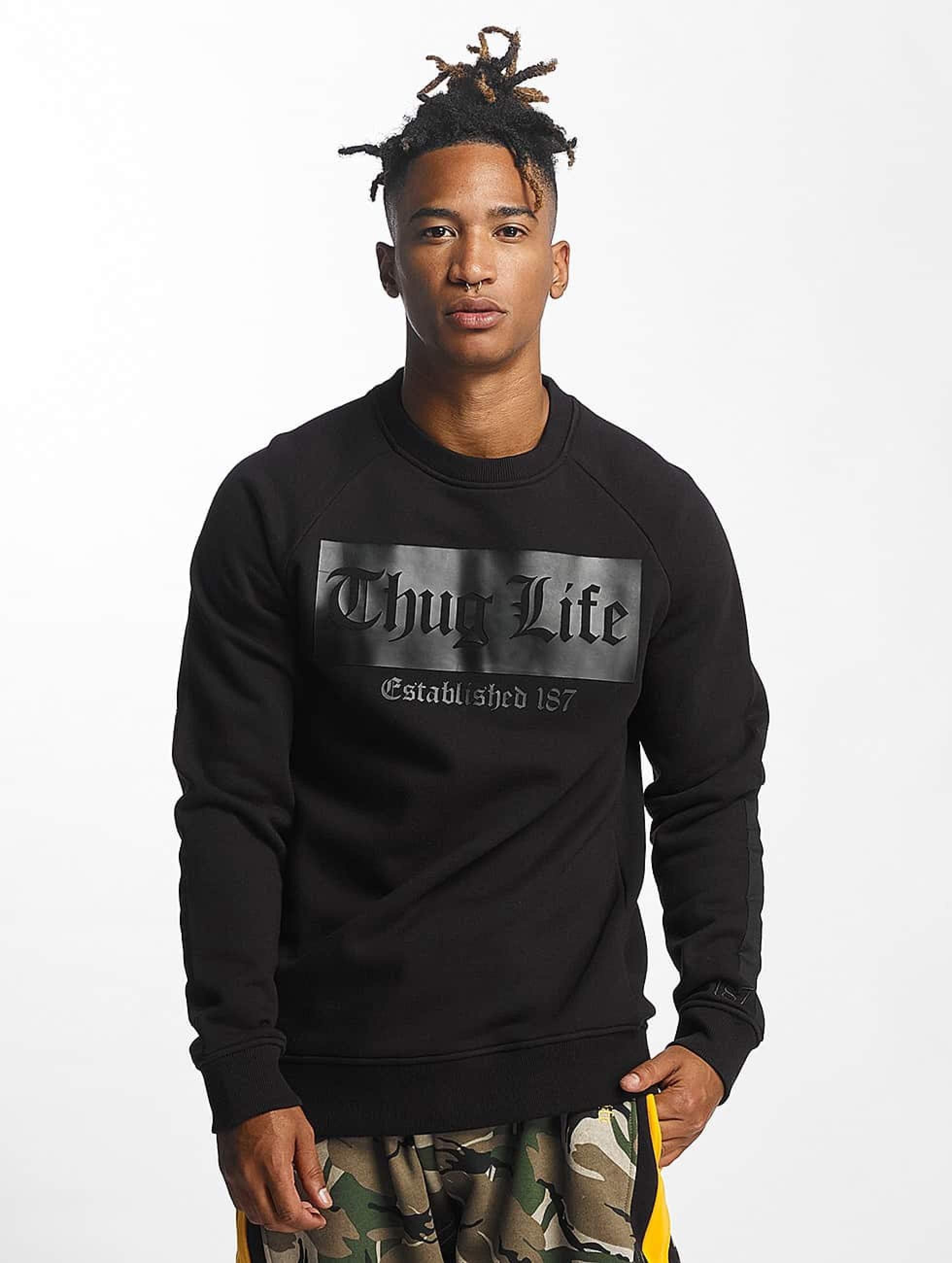 Thug Life / Jumper THGLFE in black 2XL