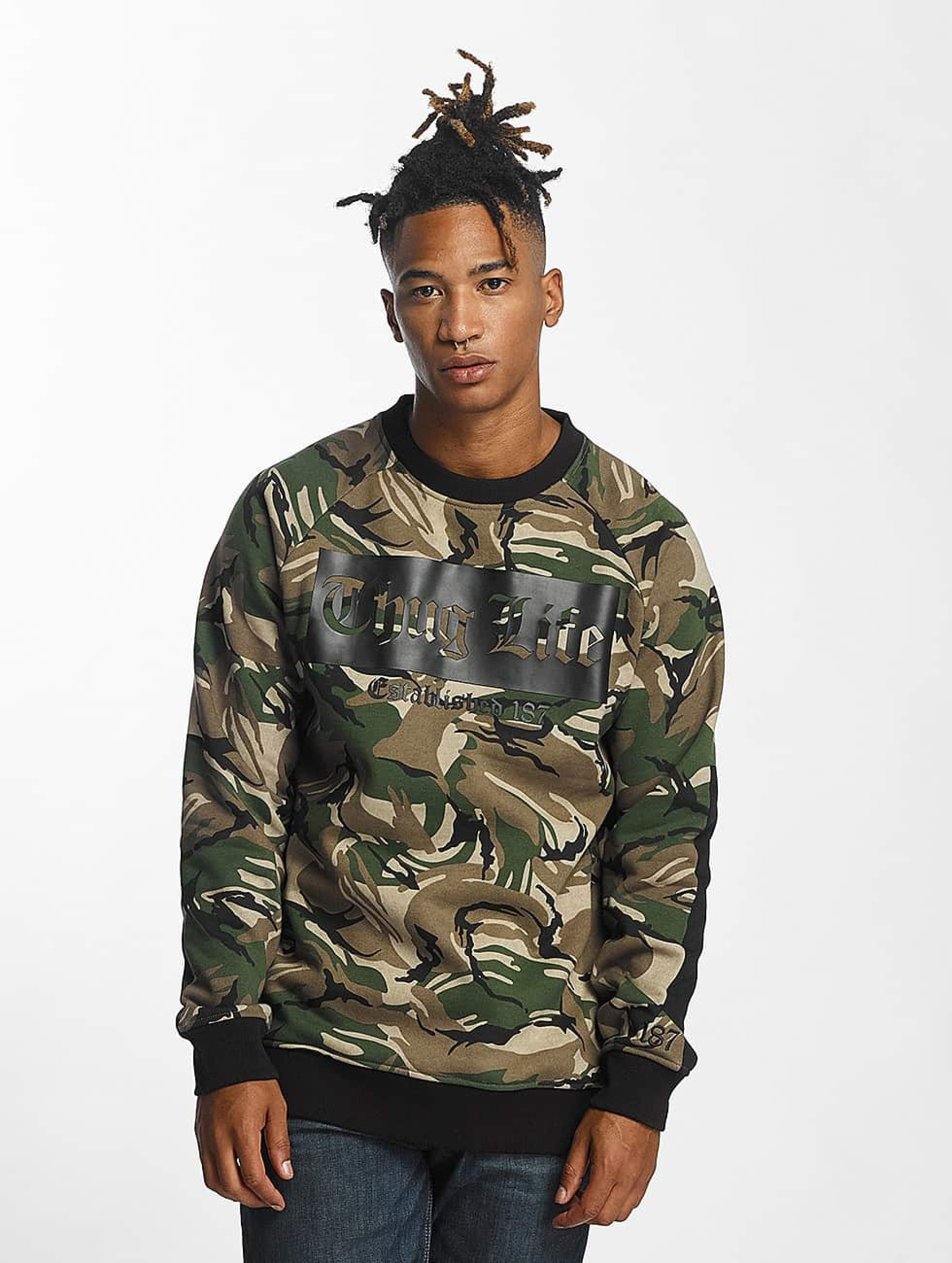 Thug Life / Jumper THGLFE in camouflage XL