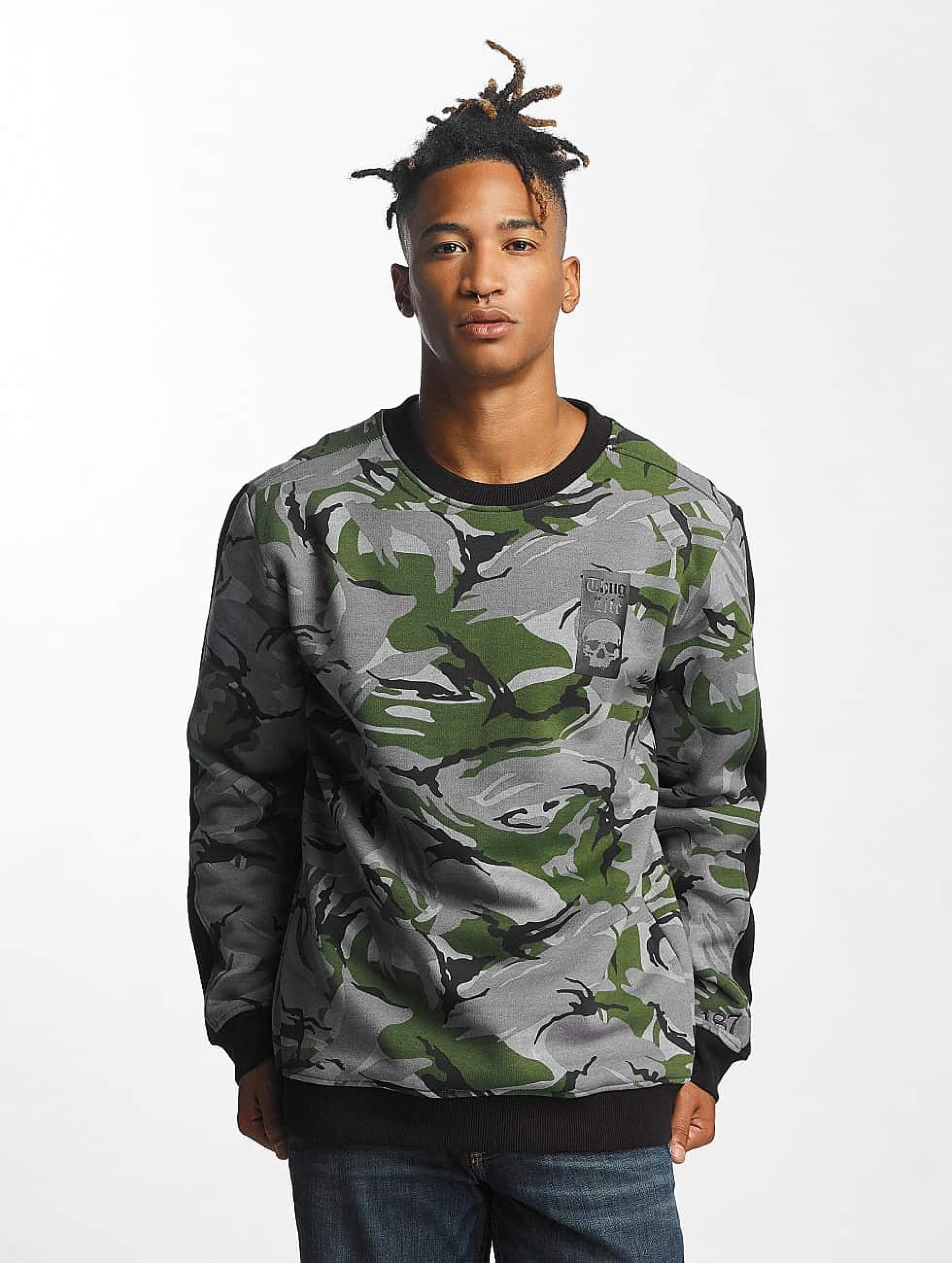 Thug Life / Jumper Simple in camouflage XL