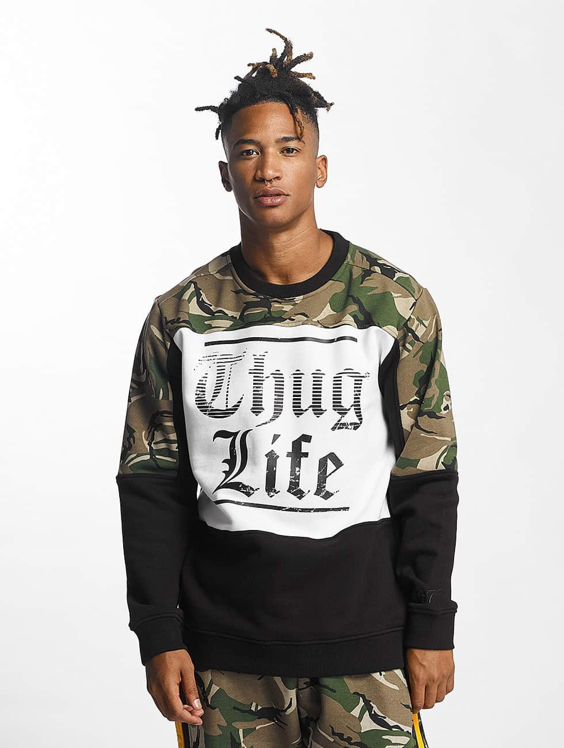Thug Life / Jumper New Life in camouflage M