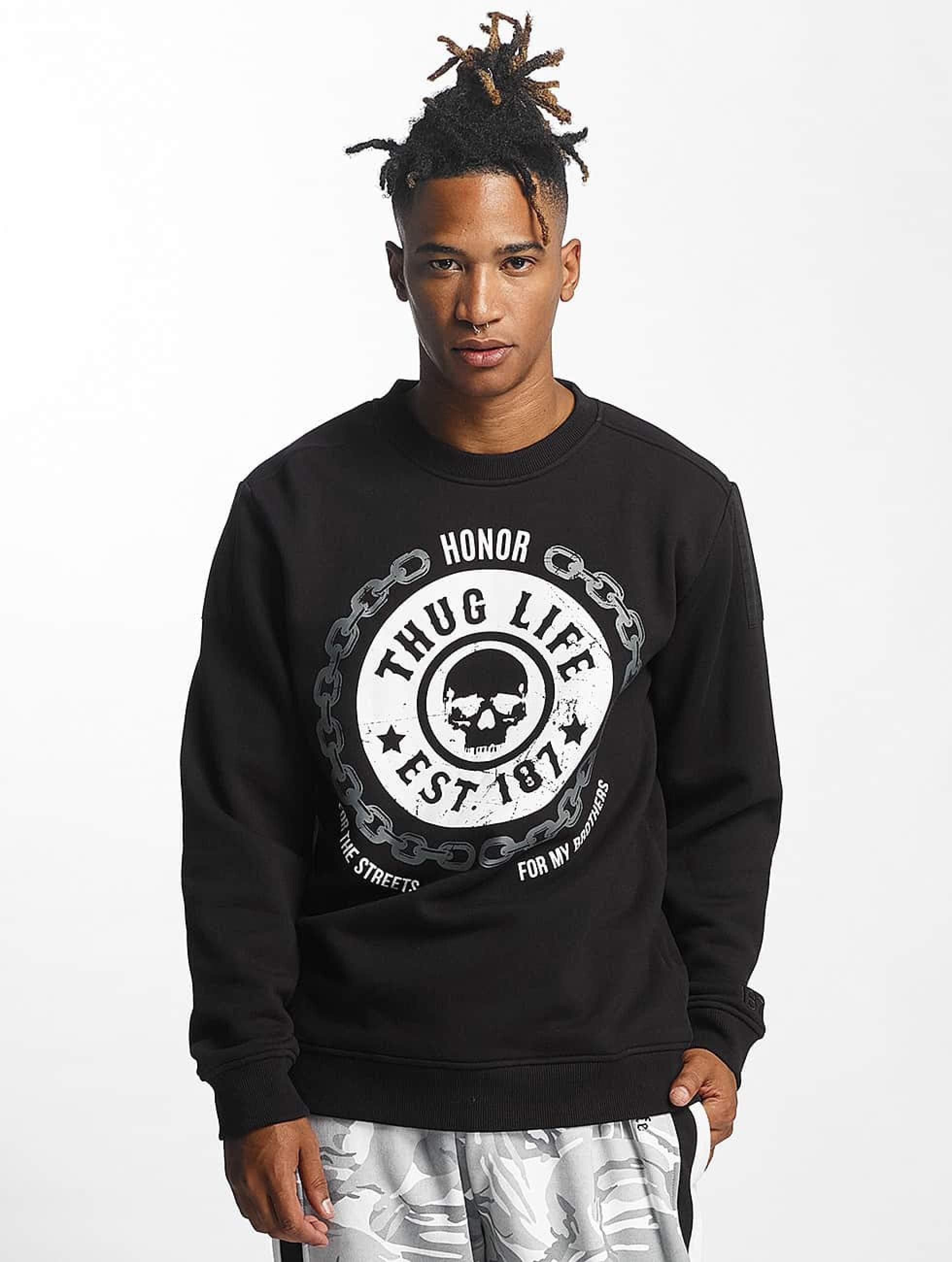 Thug Life / Jumper Barley in black 2XL