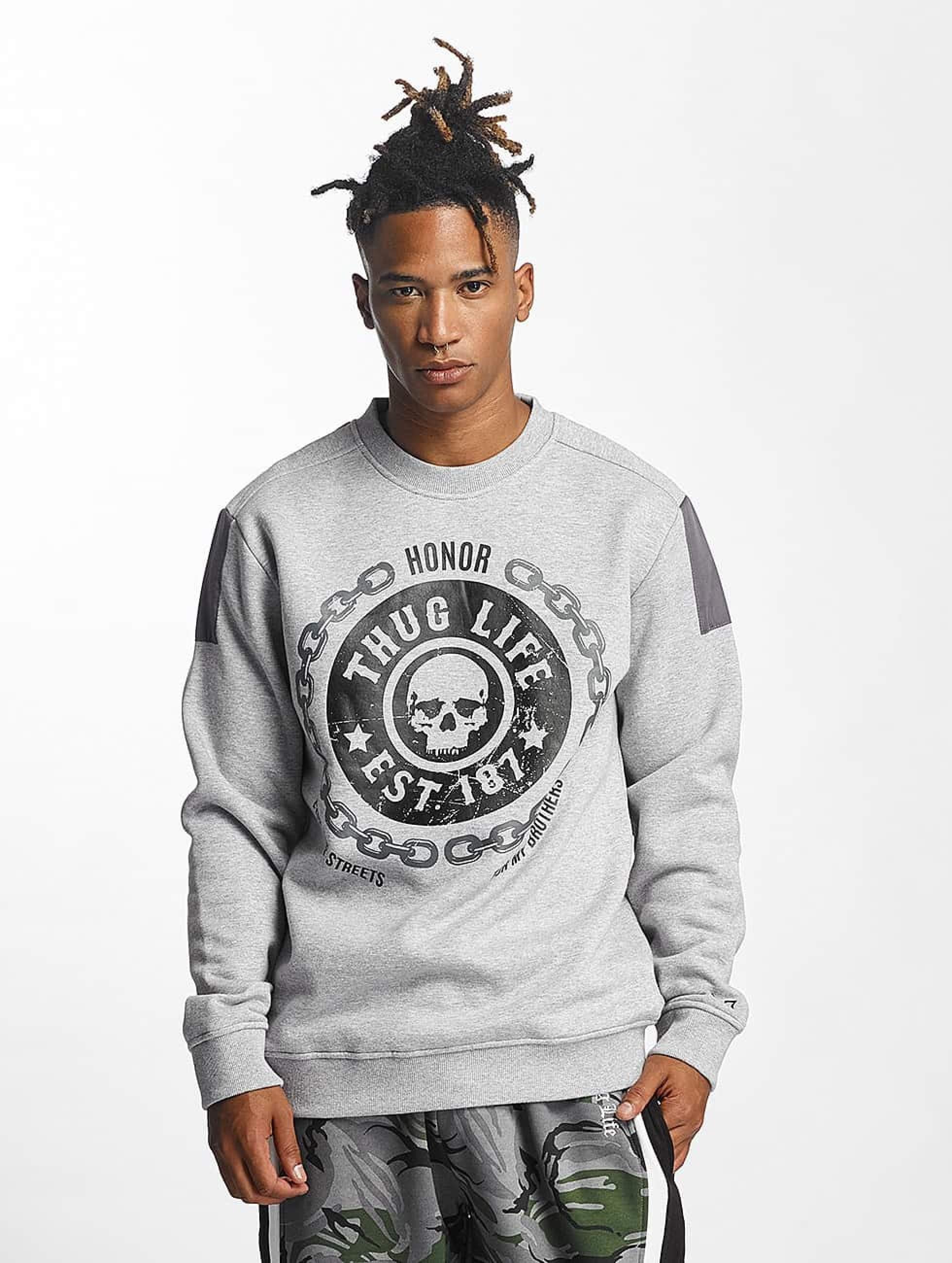 Thug Life / Jumper Barley in grey 3XL