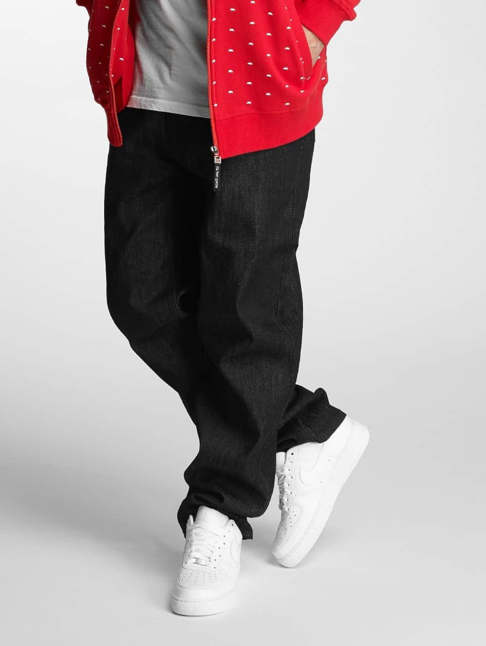 Ecko Unltd. / Loose Fit Jeans Hooth in black W 42 L 34