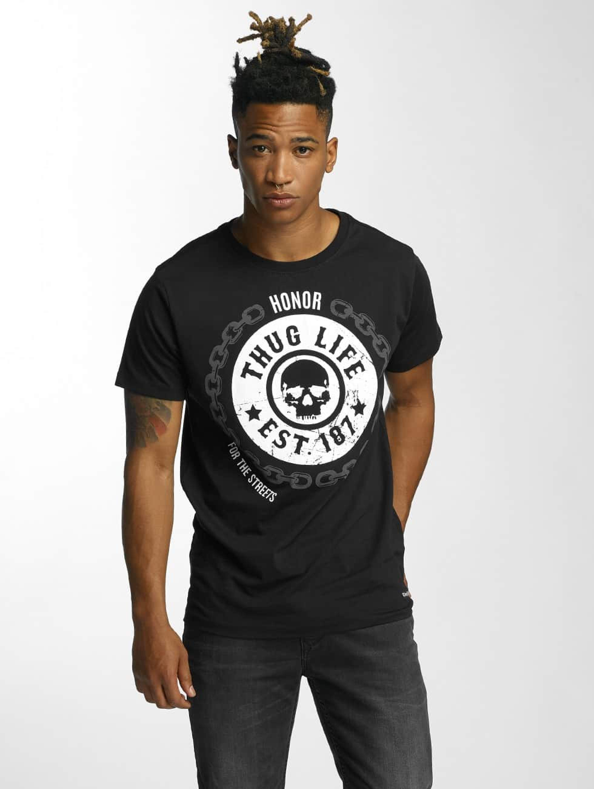 Thug Life / T-Shirt Barley in black S