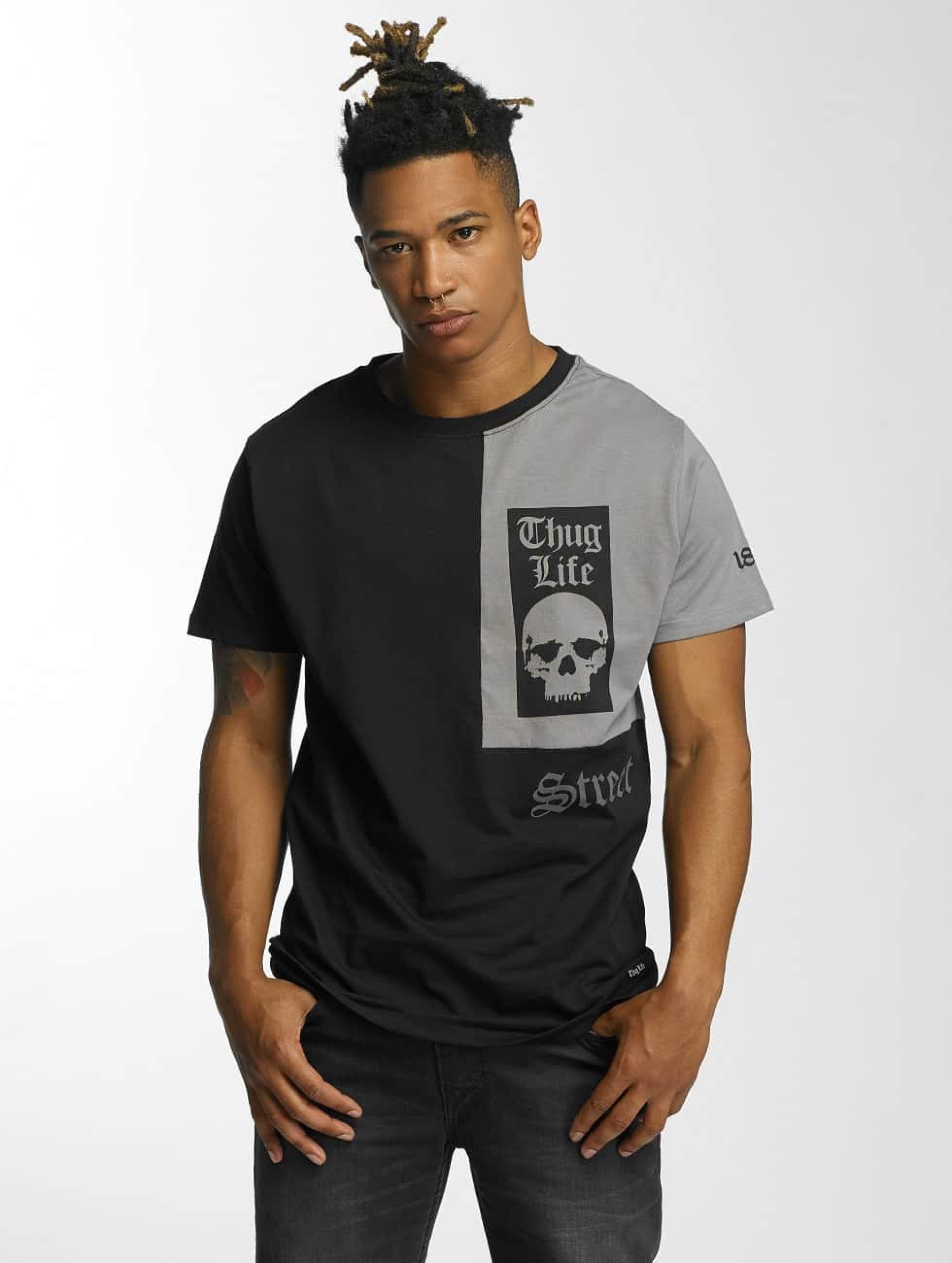 Thug Life / T-Shirt Qube in black S