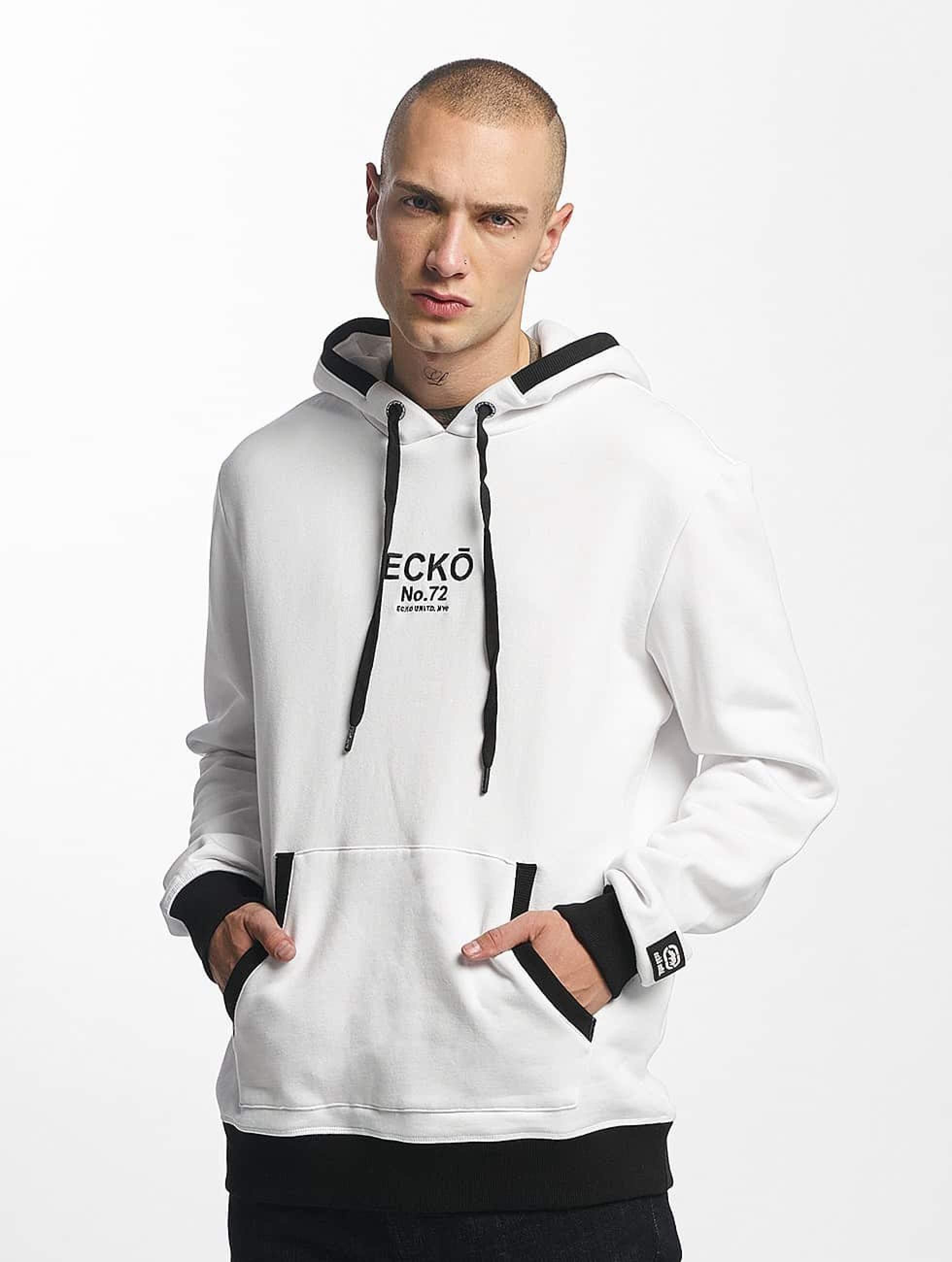 Ecko Unltd. / Hoodie SkeletonCoast in white 4XL