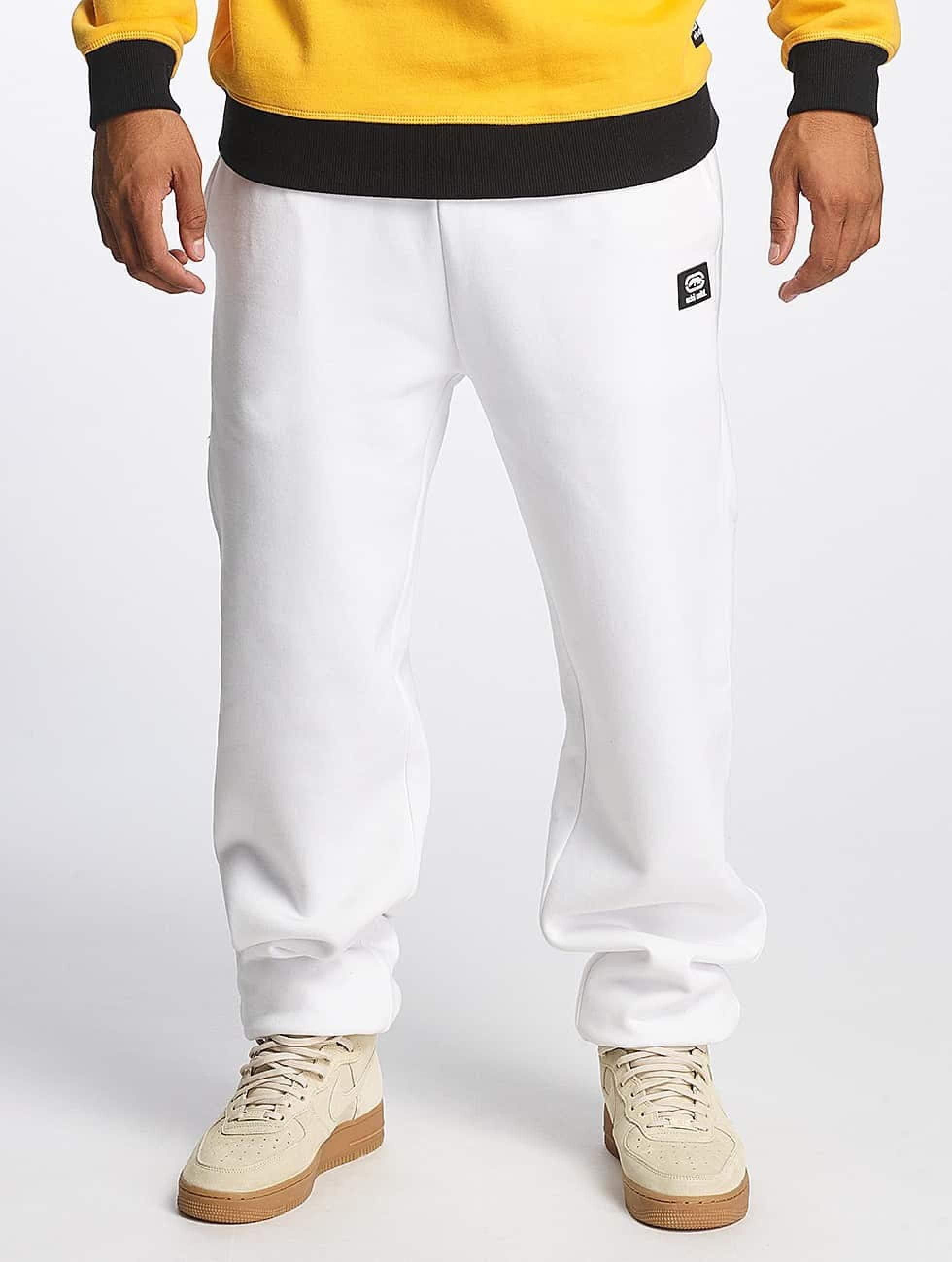 Ecko Unltd. / Sweat Pant SkeletonCoast in white M