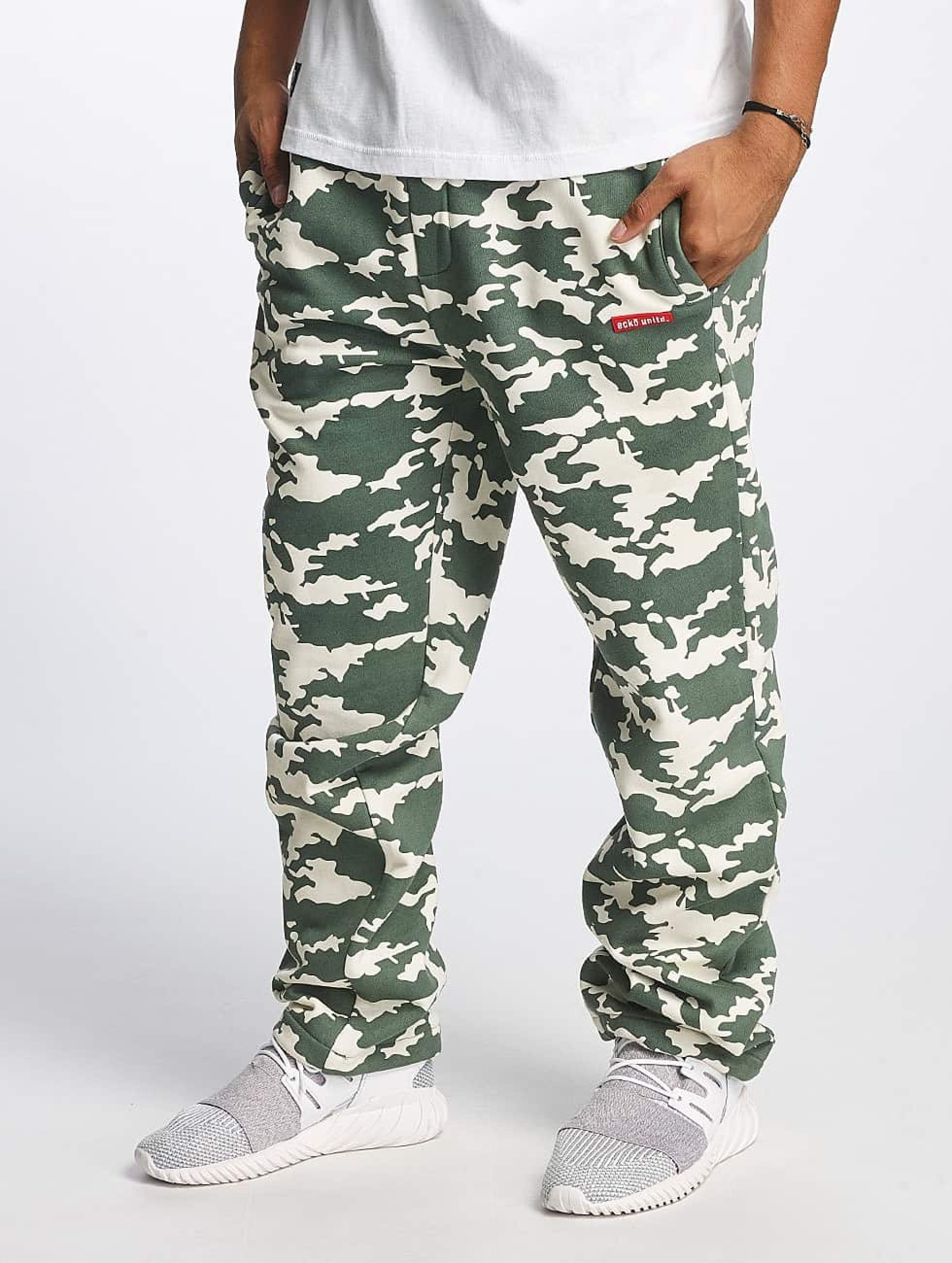 Ecko Unltd. / Sweat Pant BananaBeach in camouflage 4XL