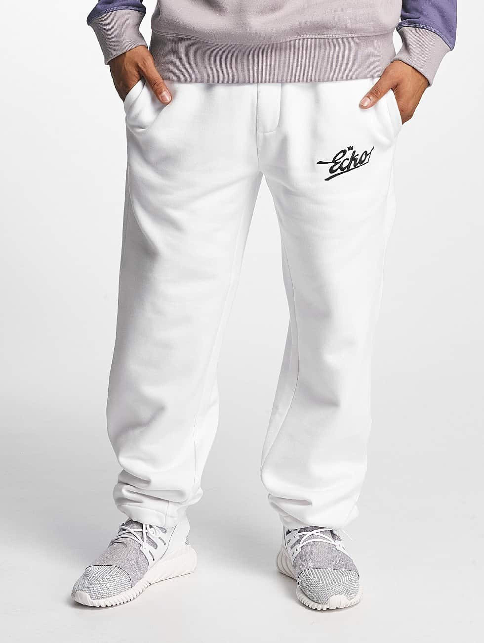 Ecko Unltd. / Sweat Pant Gordon`s Bay in white 3XL