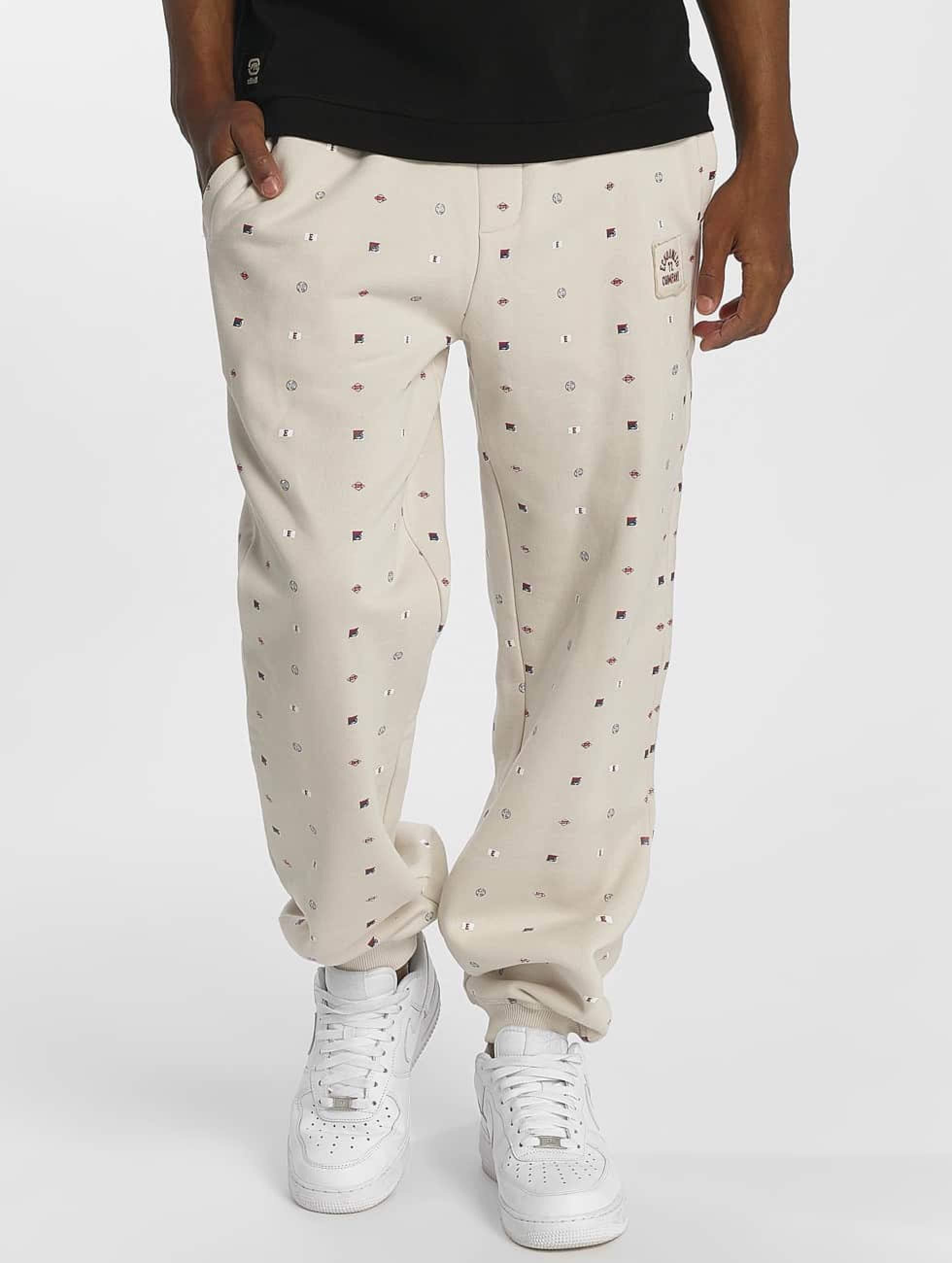 Ecko Unltd. / Sweat Pant CapeVidal in white 3XL