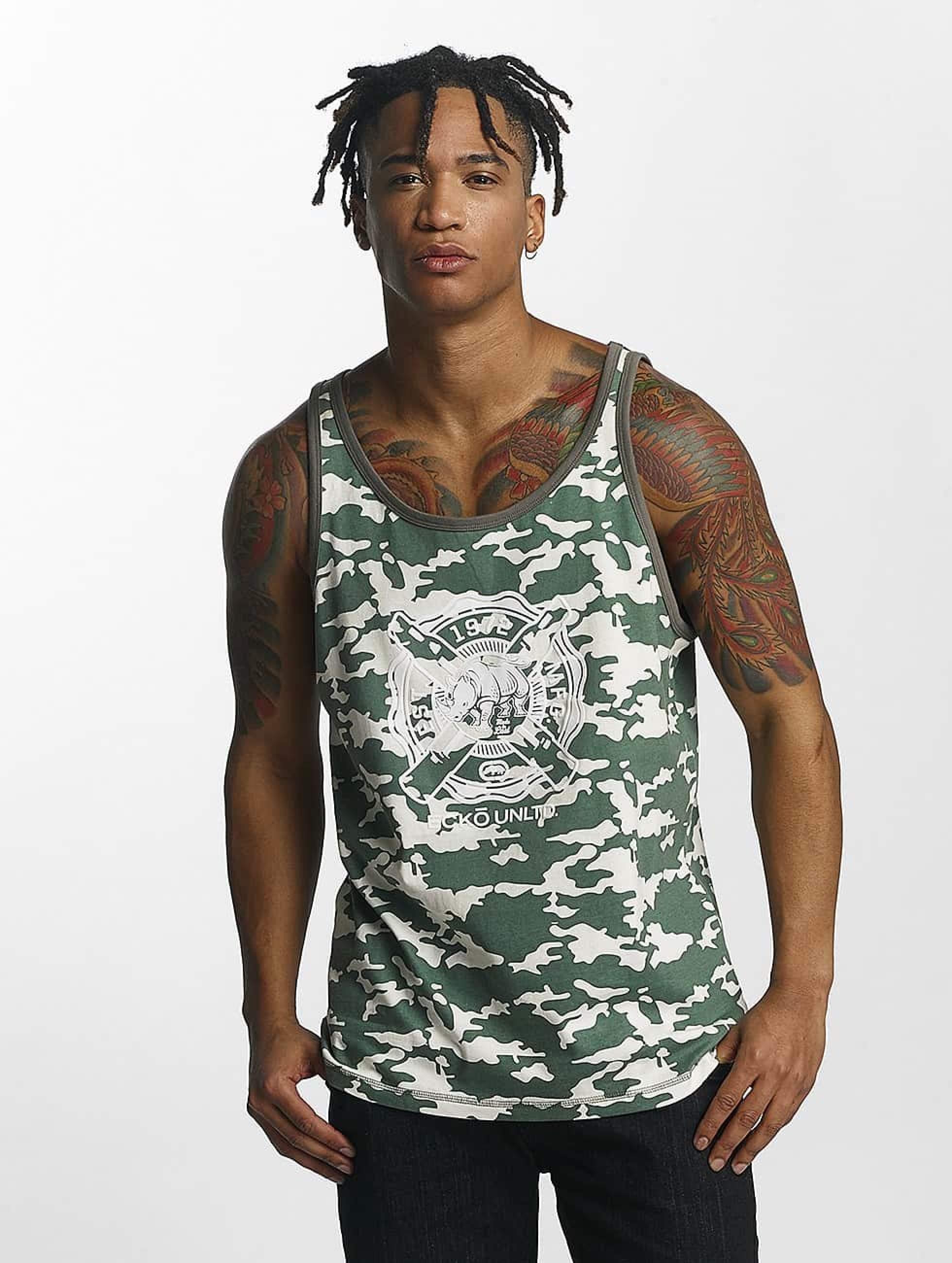 Ecko Unltd. / Tank Tops BananaBeach in camouflage L