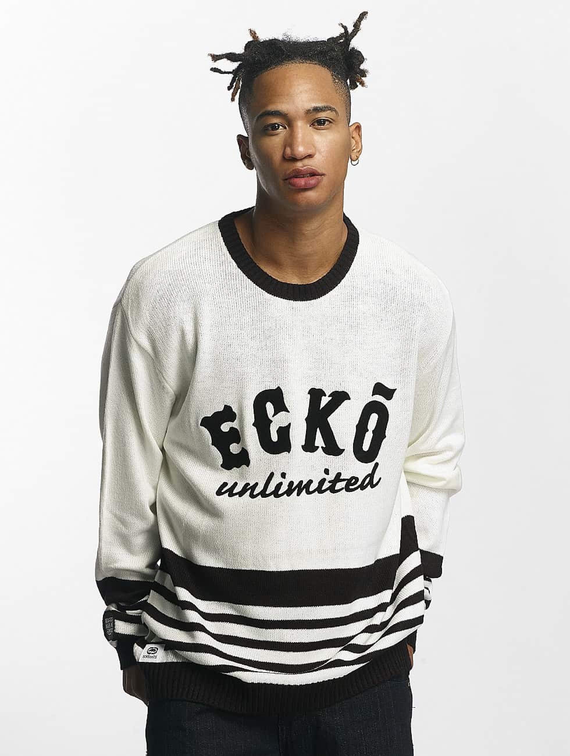 Ecko Unltd. / Jumper Oldschool in white S
