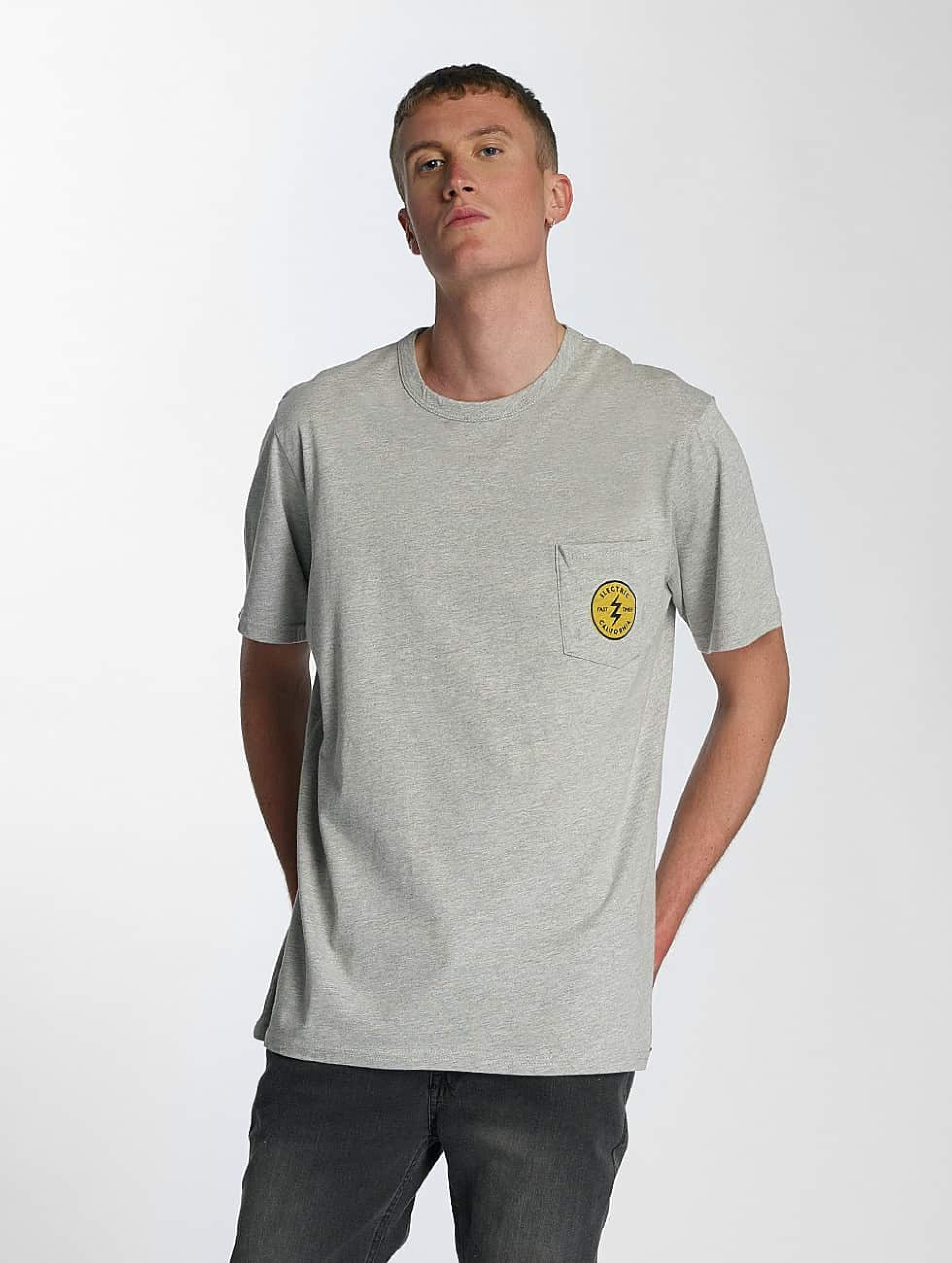 Electric | Fast Time Pocket  gris Homme T-Shirt