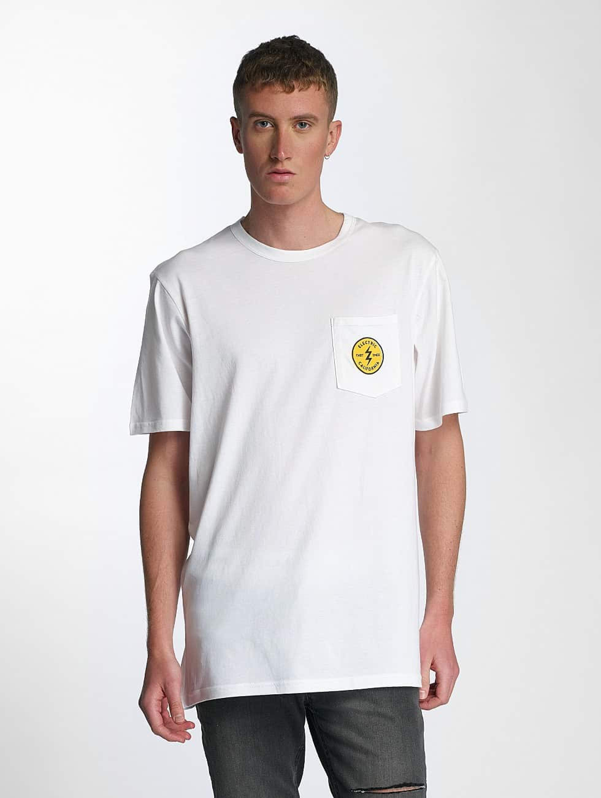 Electric | Fast Time Pocket blanc Homme T-Shirt