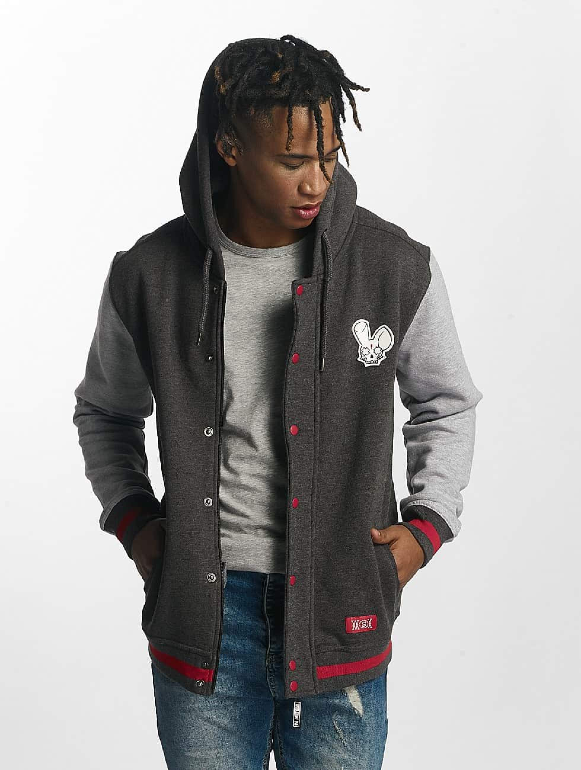 Who Shot Ya? / Zip Hoodie Dreams in grey S