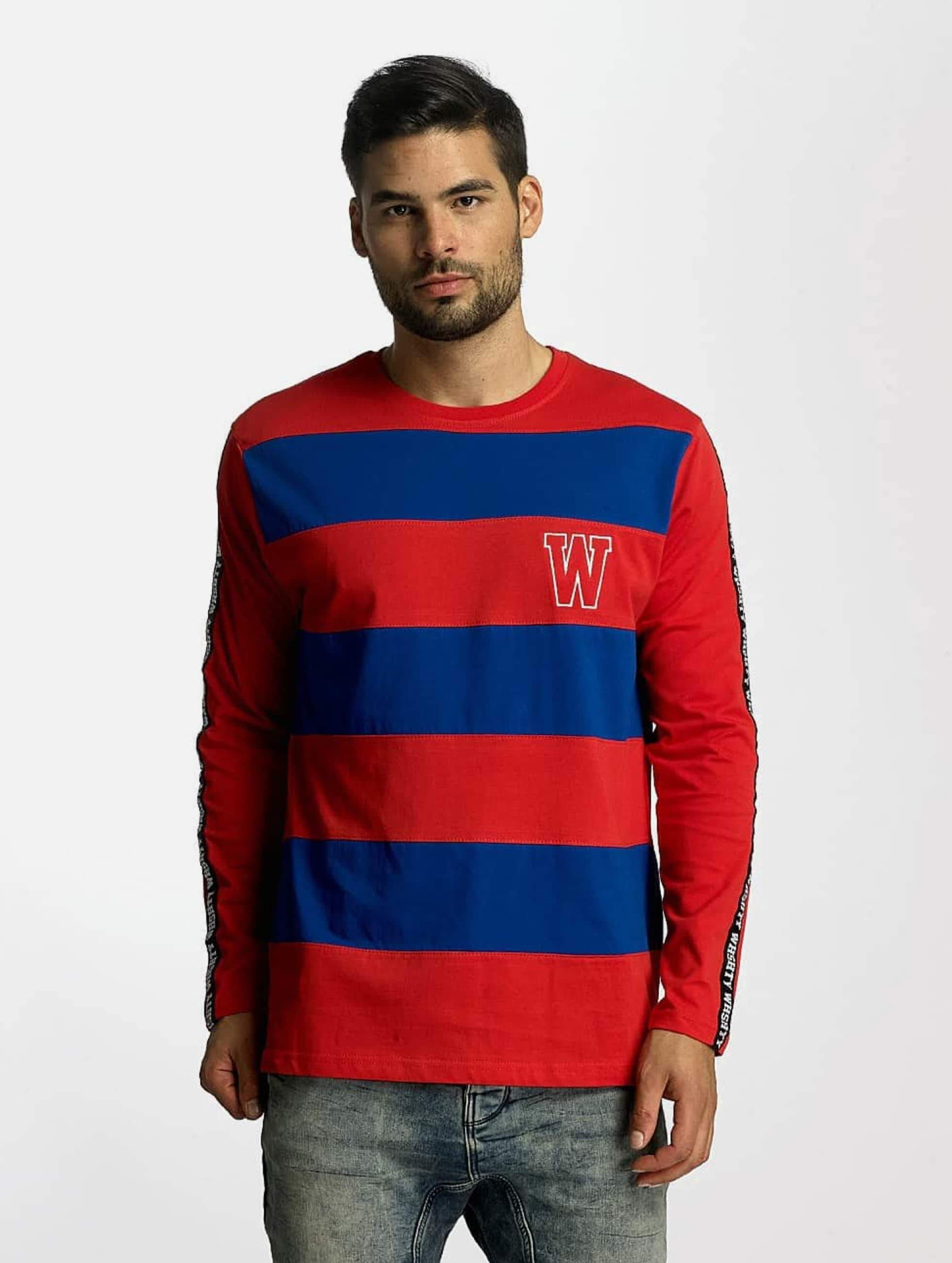 Who Shot Ya? / Longsleeve Boticelli in red XL