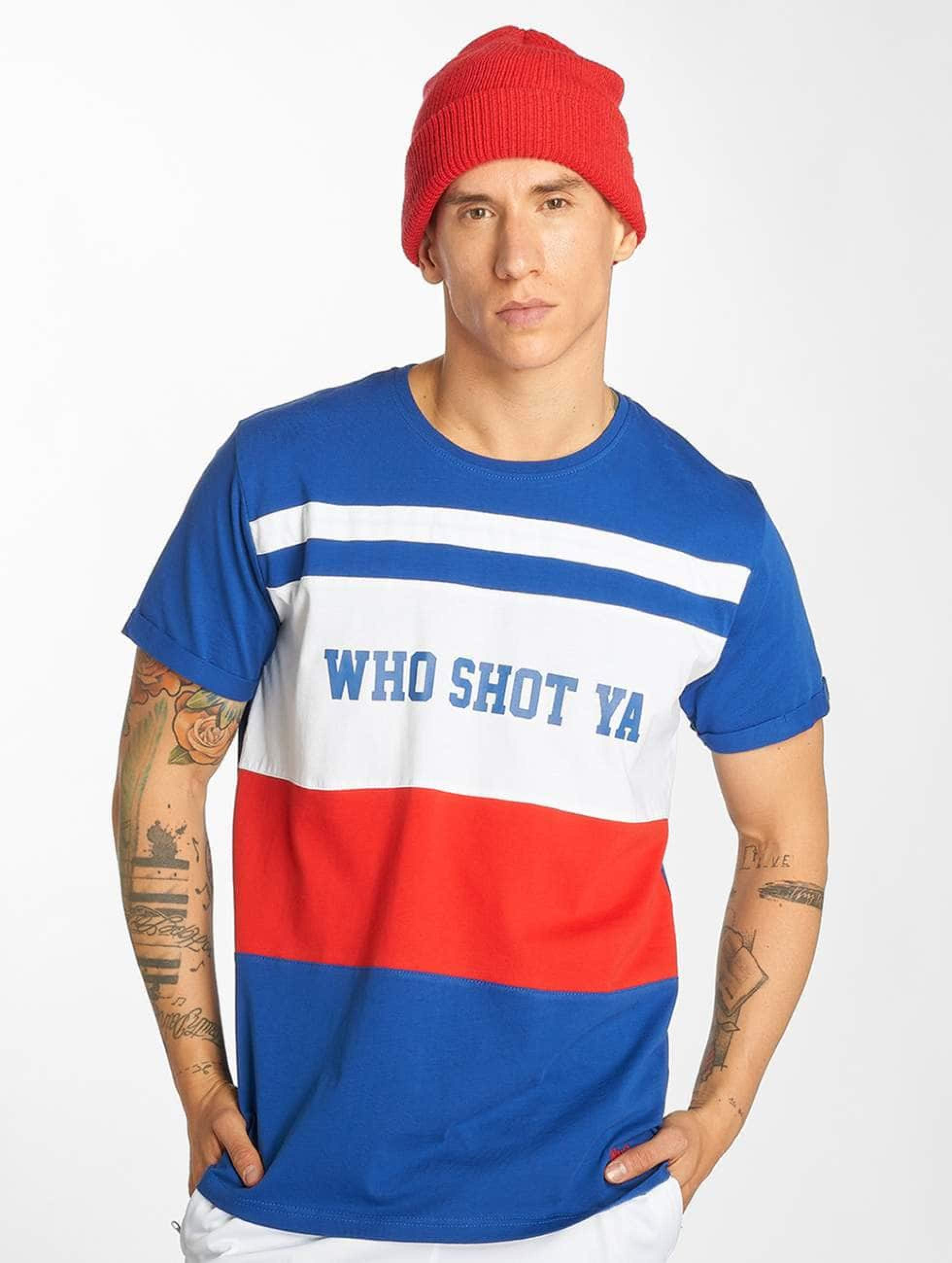 Who Shot Ya? / T-Shirt PortMorris in blue XL