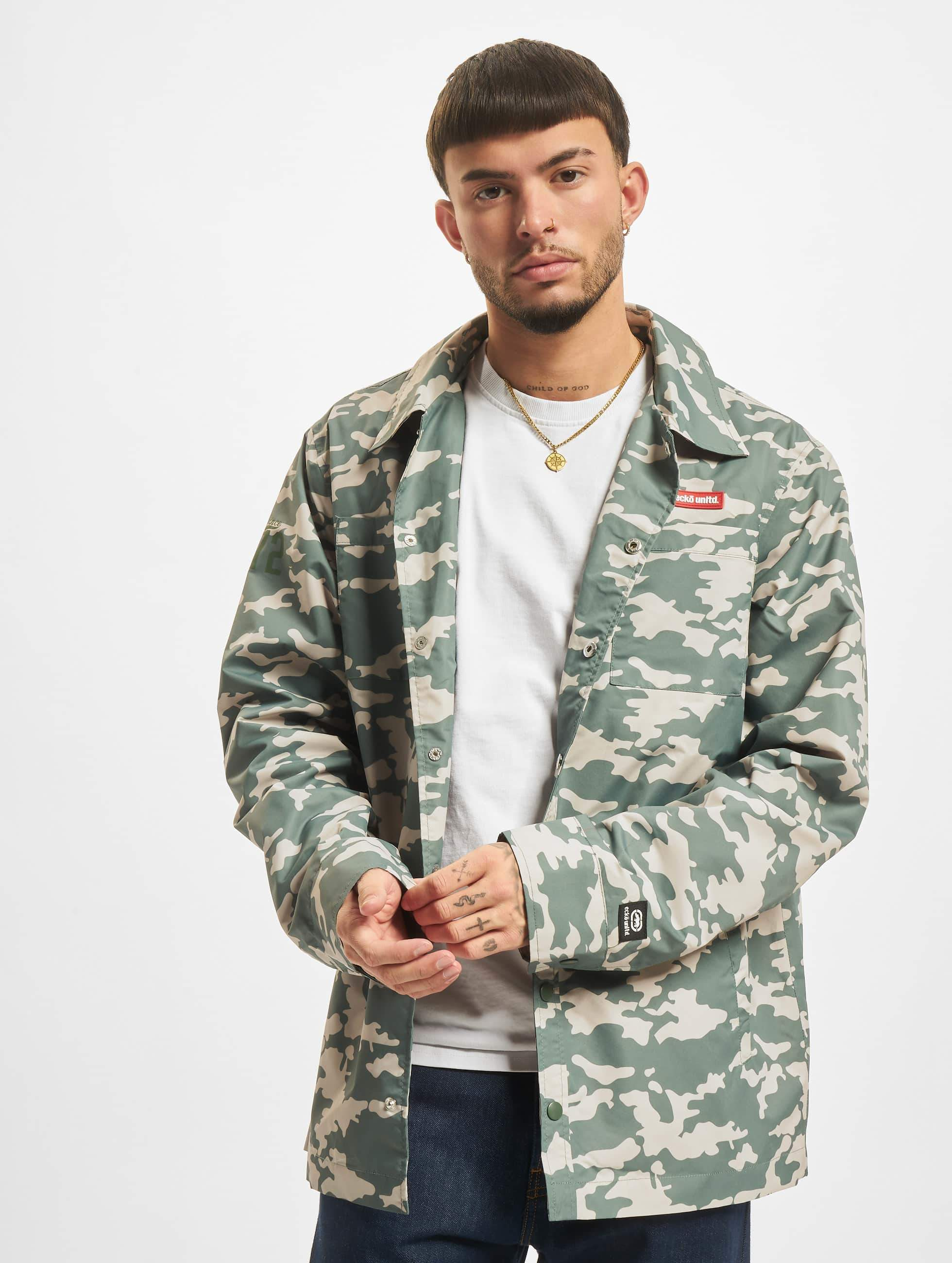 Ecko Unltd. / Lightweight Jacket BananaBeach in camouflage S