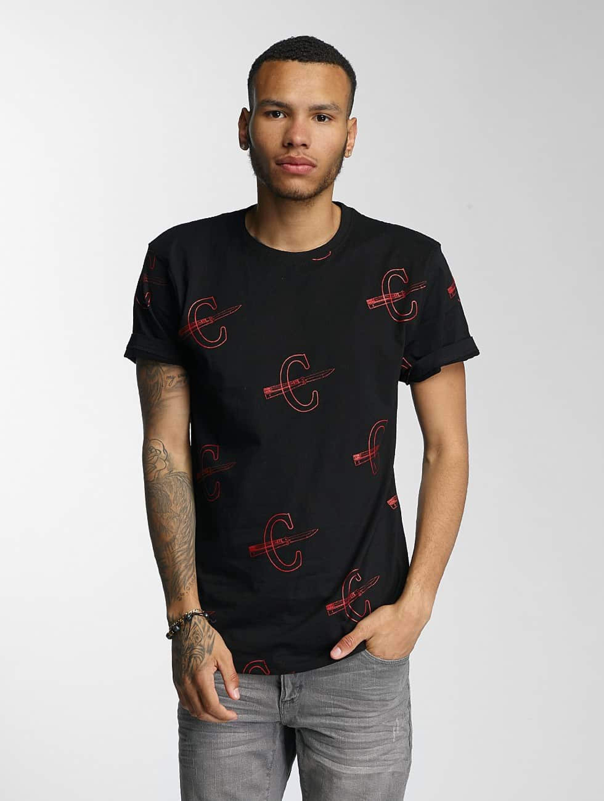 CHABOS IIVII | Cheuro  noir Homme T-Shirt