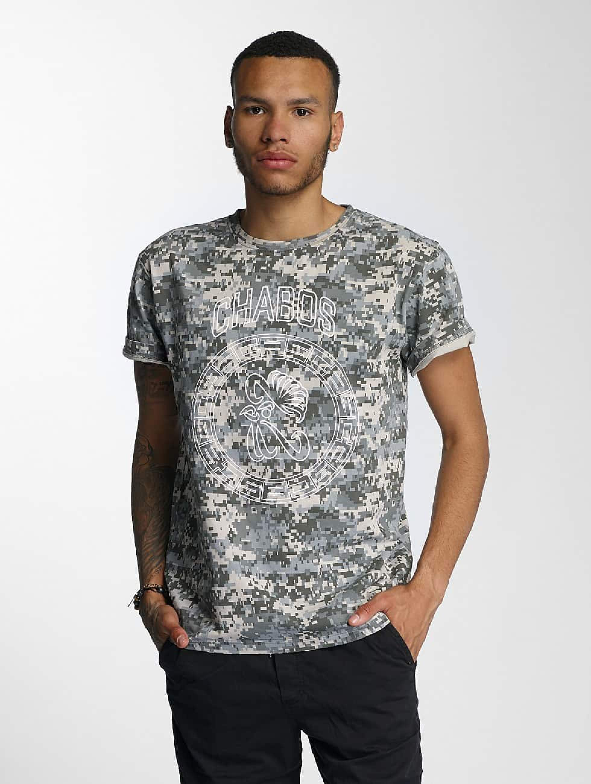 CHABOS IIVII | Camo  camouflage Homme T-Shirt