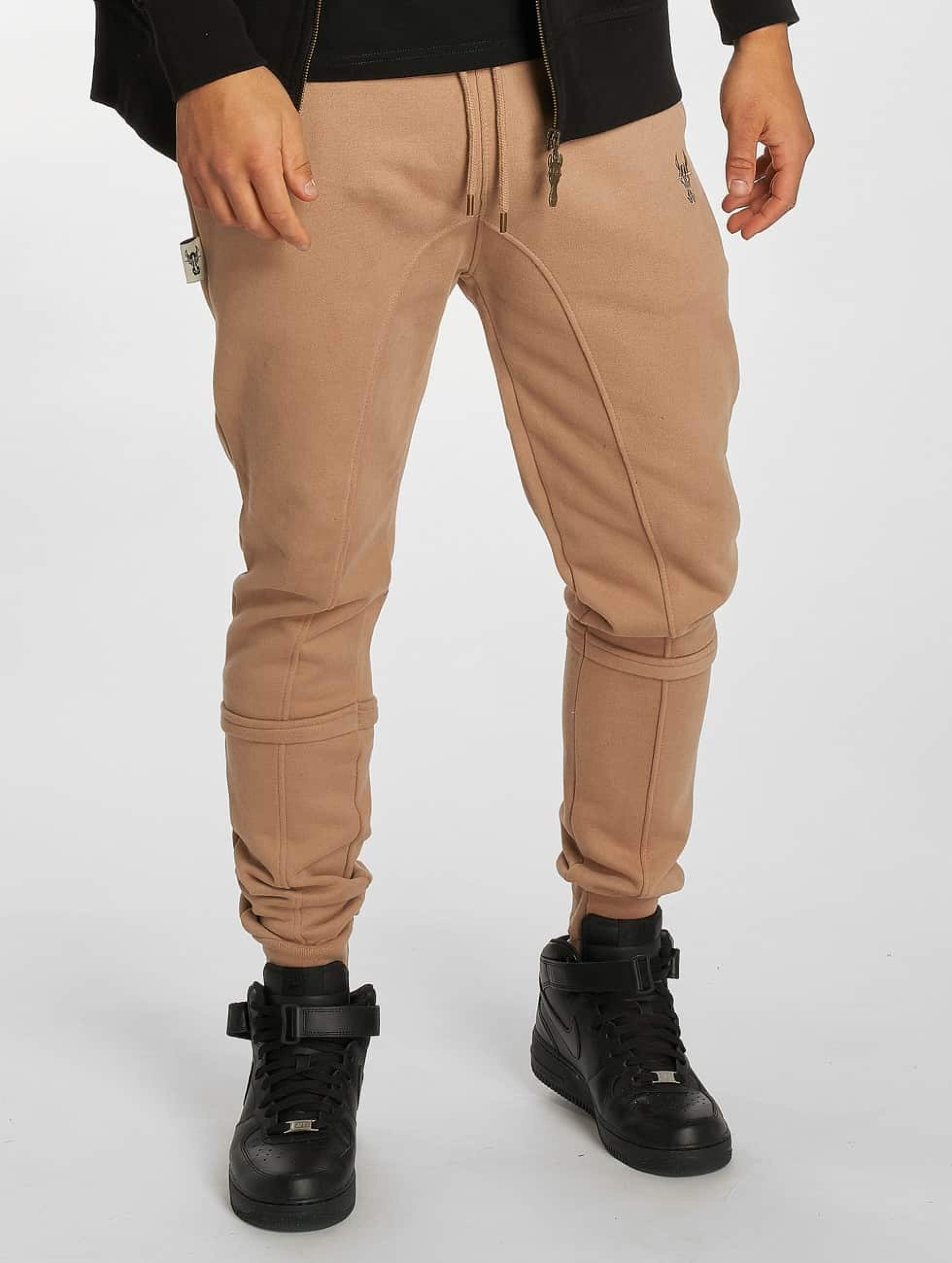 De Ferro / Sweat Pant Bull in brown XL