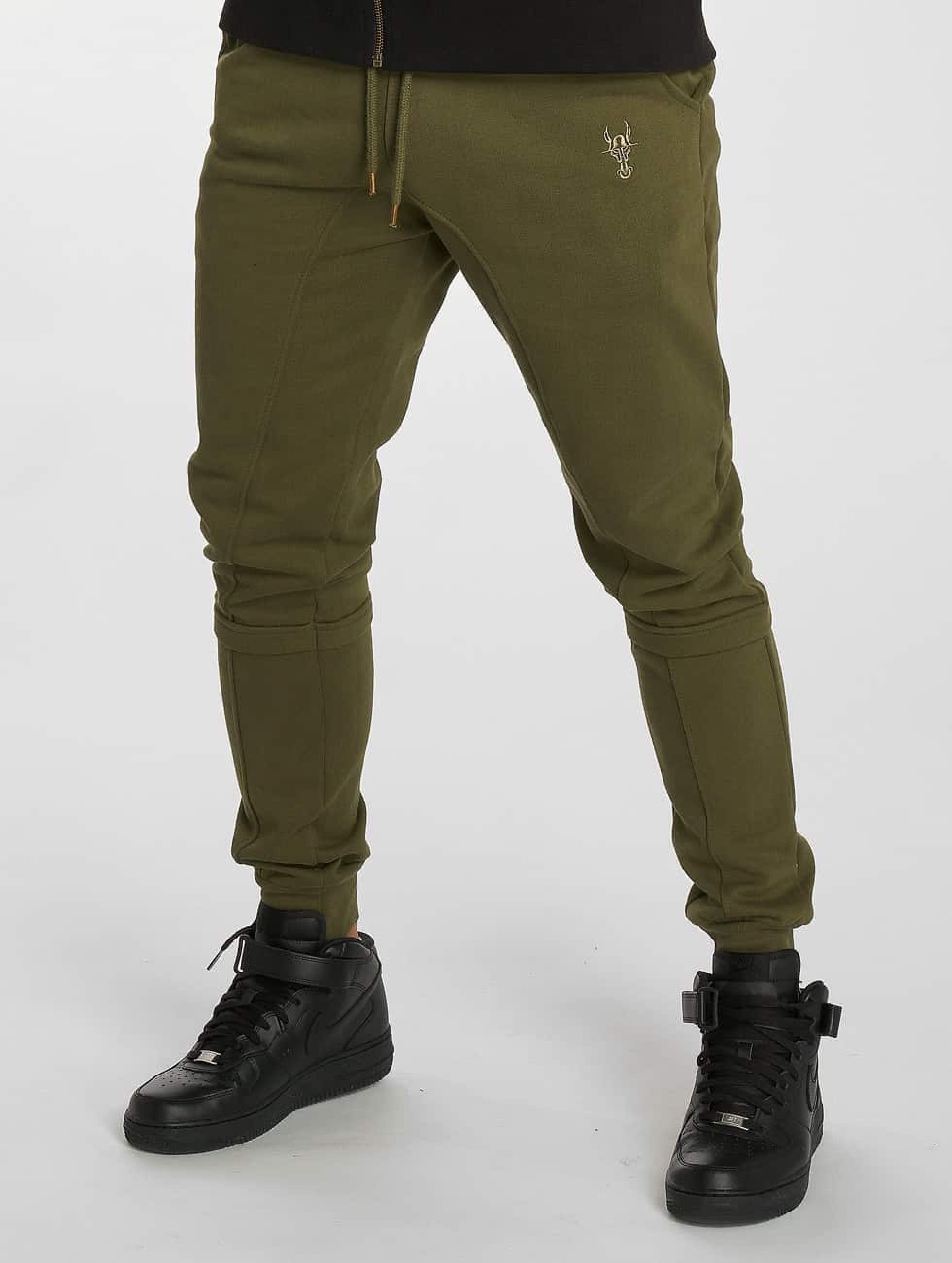De Ferro / Sweat Pant Bull in olive XL