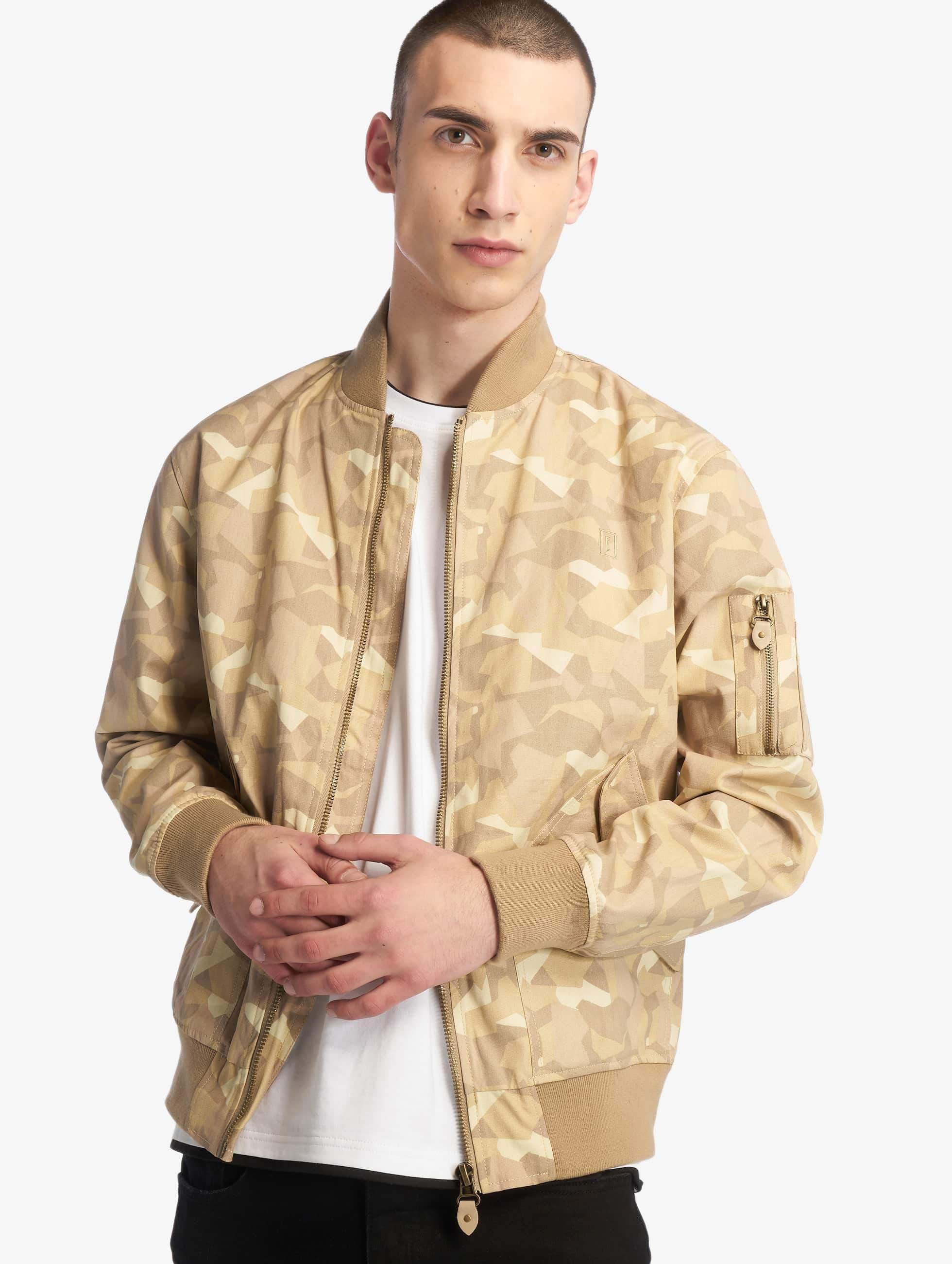 Cyprime / Bomber jacket Bomberjacket Obsidian in beige M