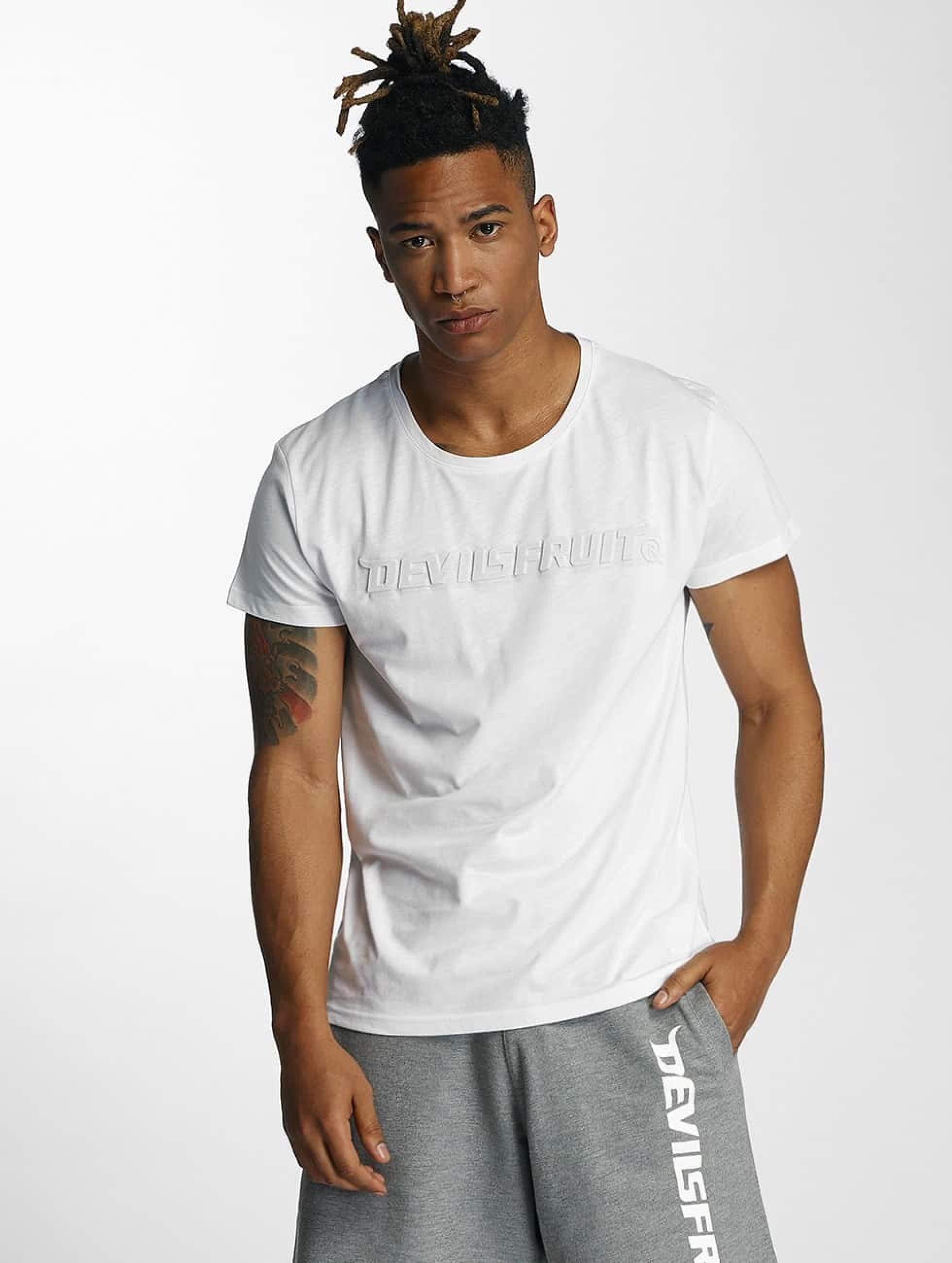 Devilsfruit | Bea  blanc Homme T-Shirt