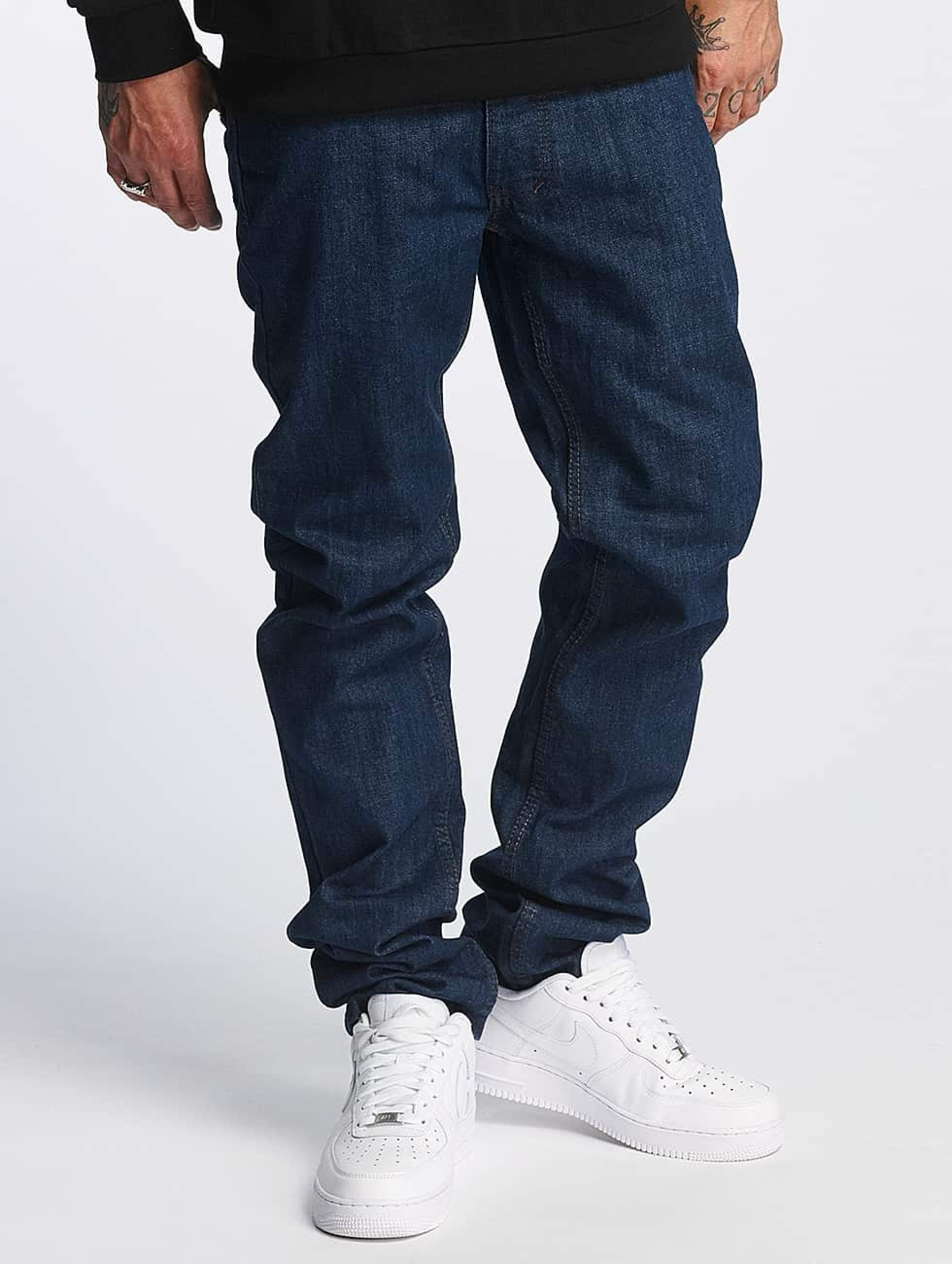 Rocawear / Straight Fit Jeans Relax in blue W 33