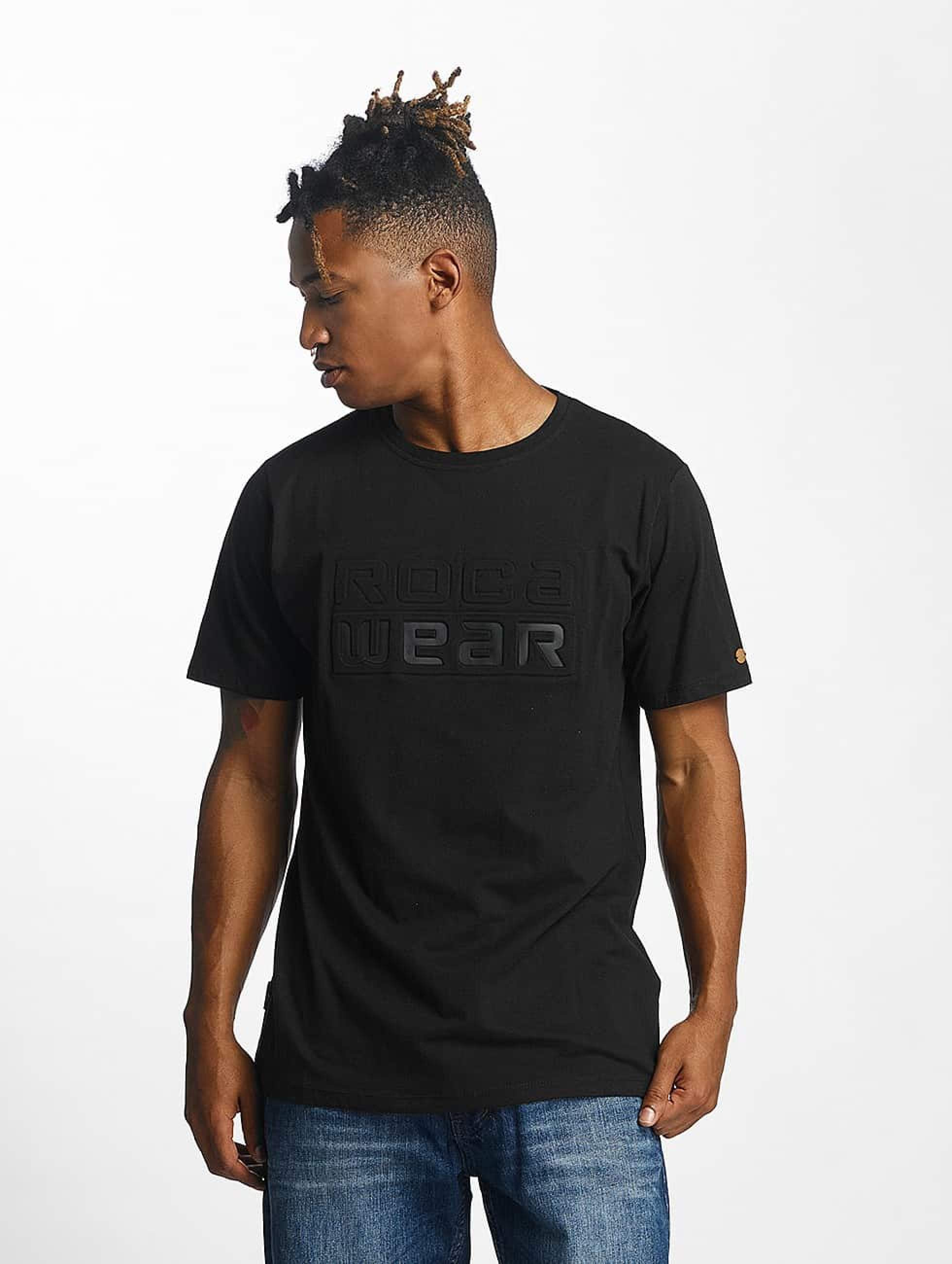 Rocawear / T-Shirt Embossing in black S