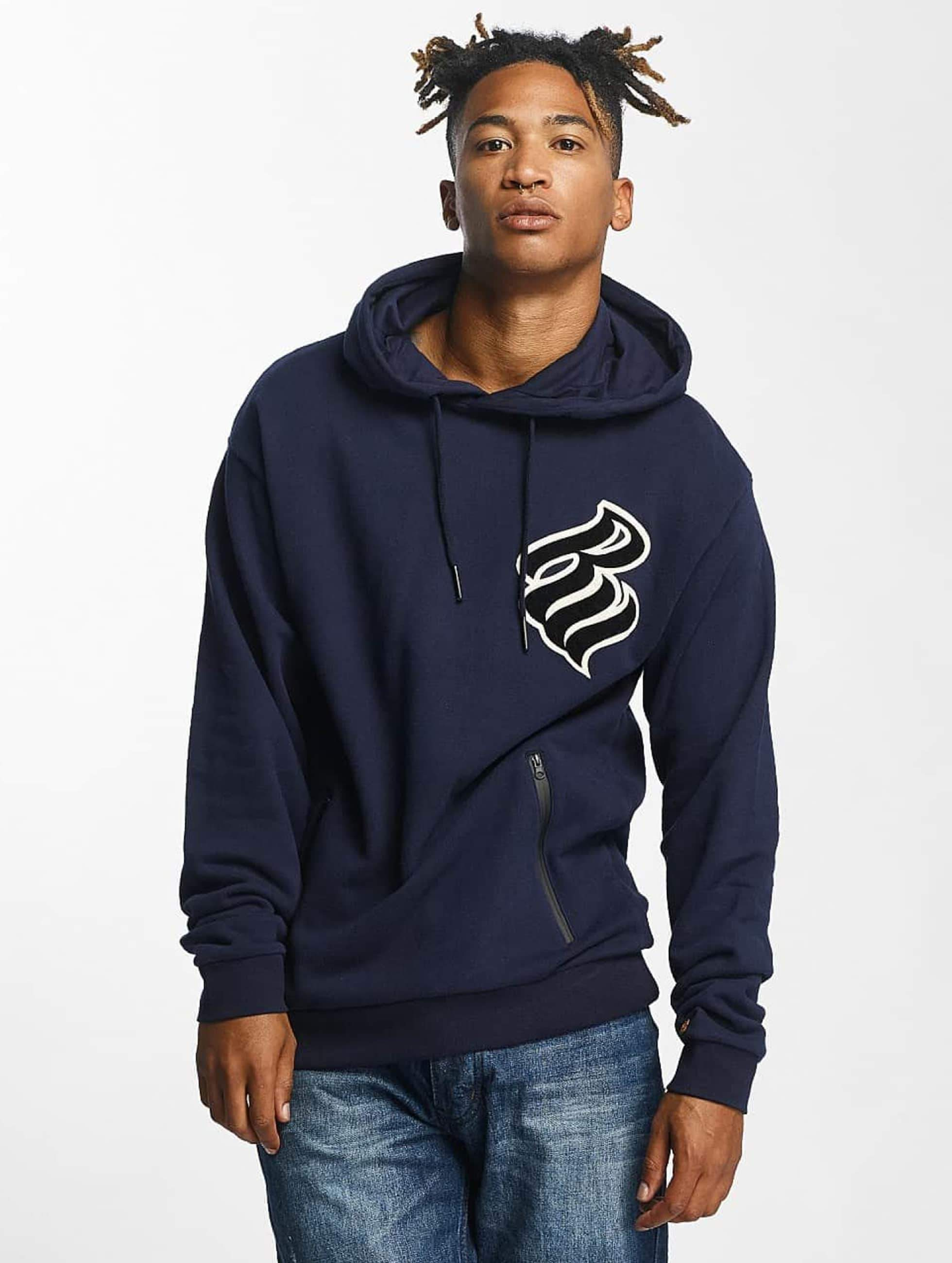 Rocawear / Hoodie Retro Basic in blue S
