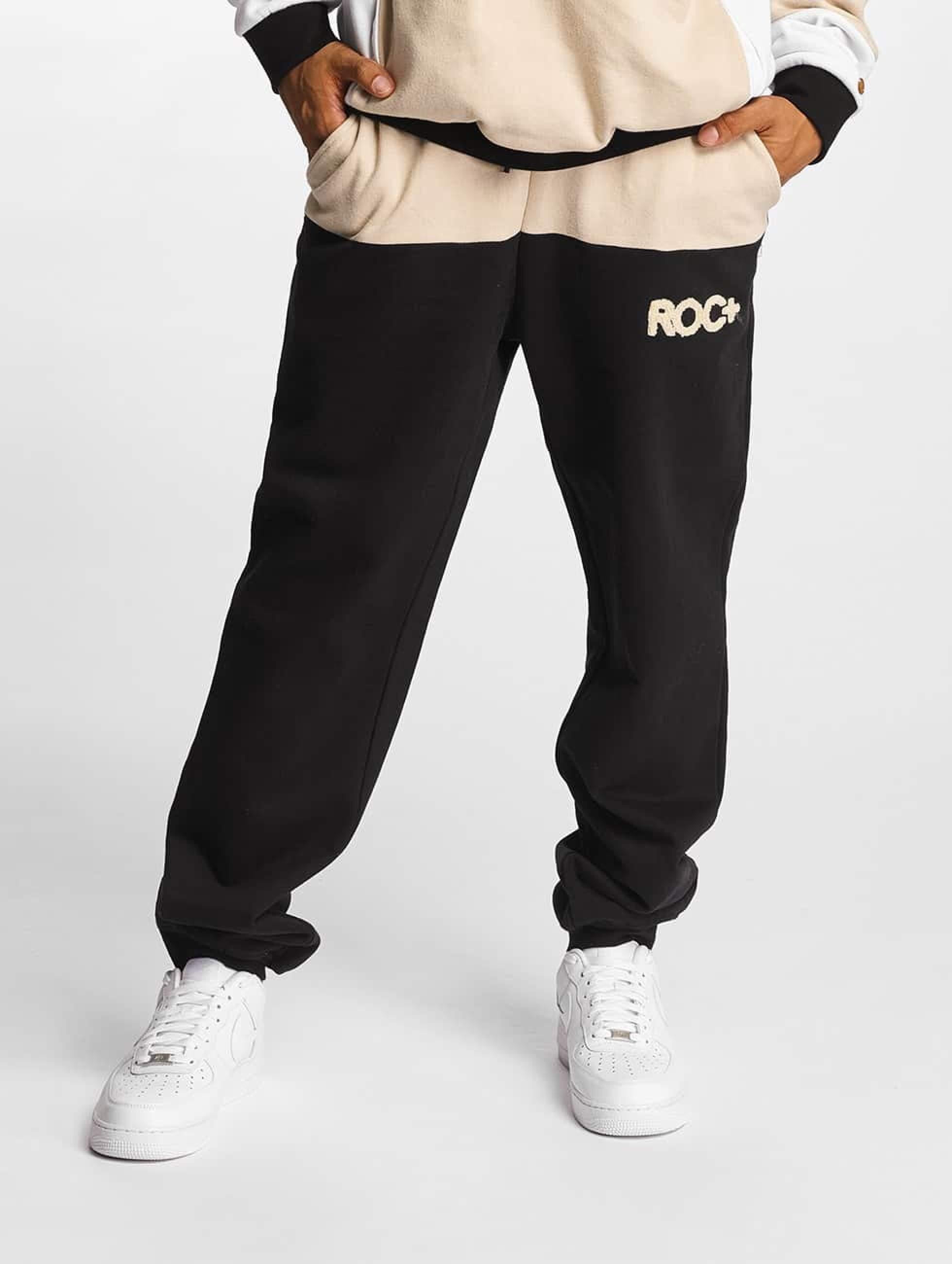 Rocawear / Sweat Pant Retro Sport Fleece in black S