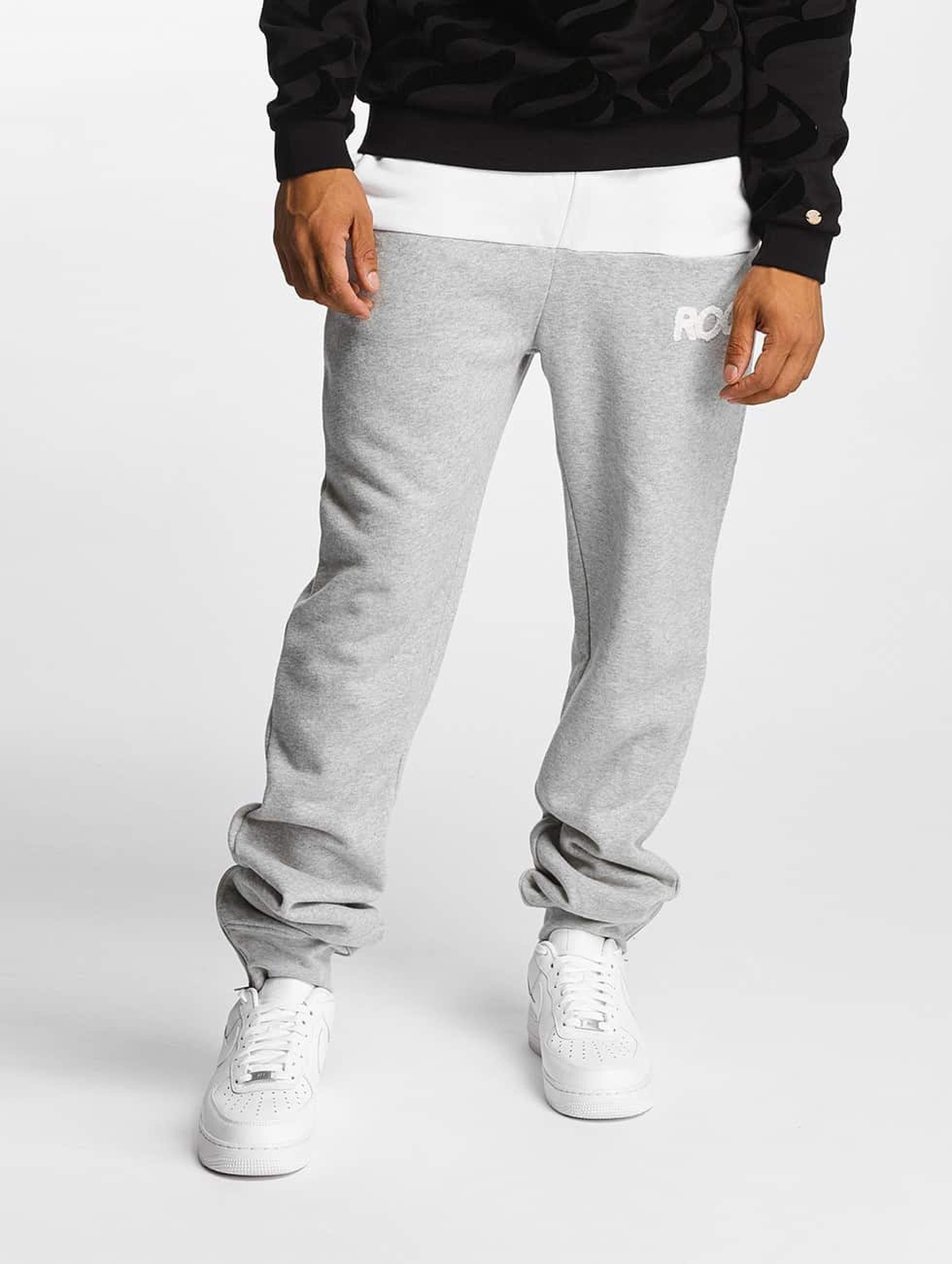 Rocawear / Sweat Pant Retro Sport Fleece in grey XL
